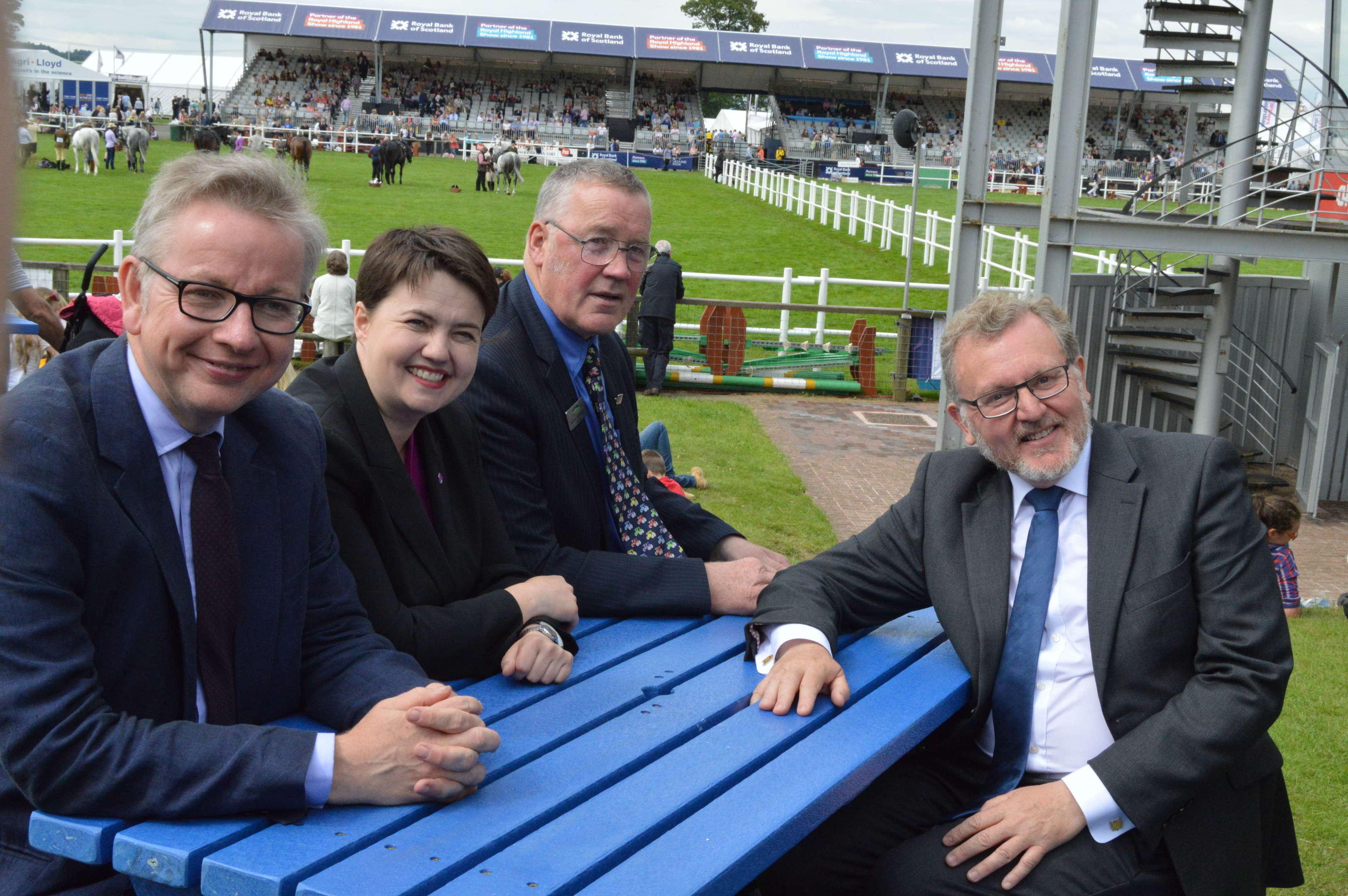 Mr Gove met representatives of most food and farming sectors at the Royal Highland Show