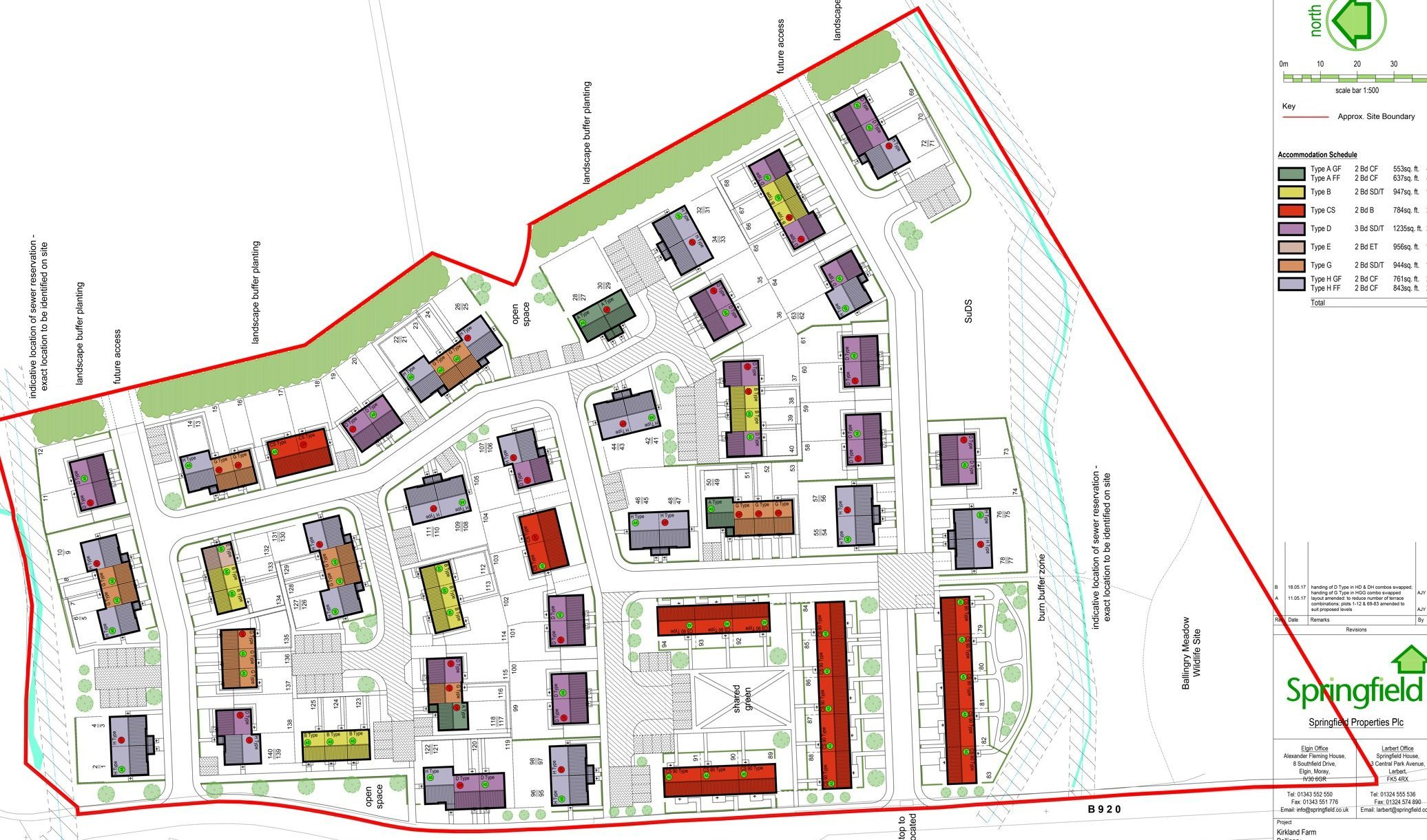 Some 140 homes could be built