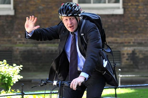 Former London major Boris Johnson supported the London Cycle Hire Scheme