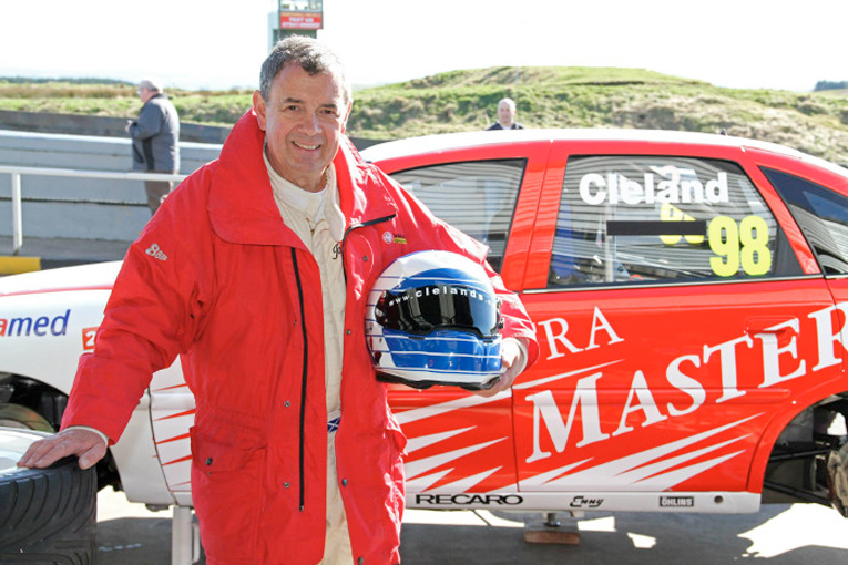 John Cleland will be on the starting grid.