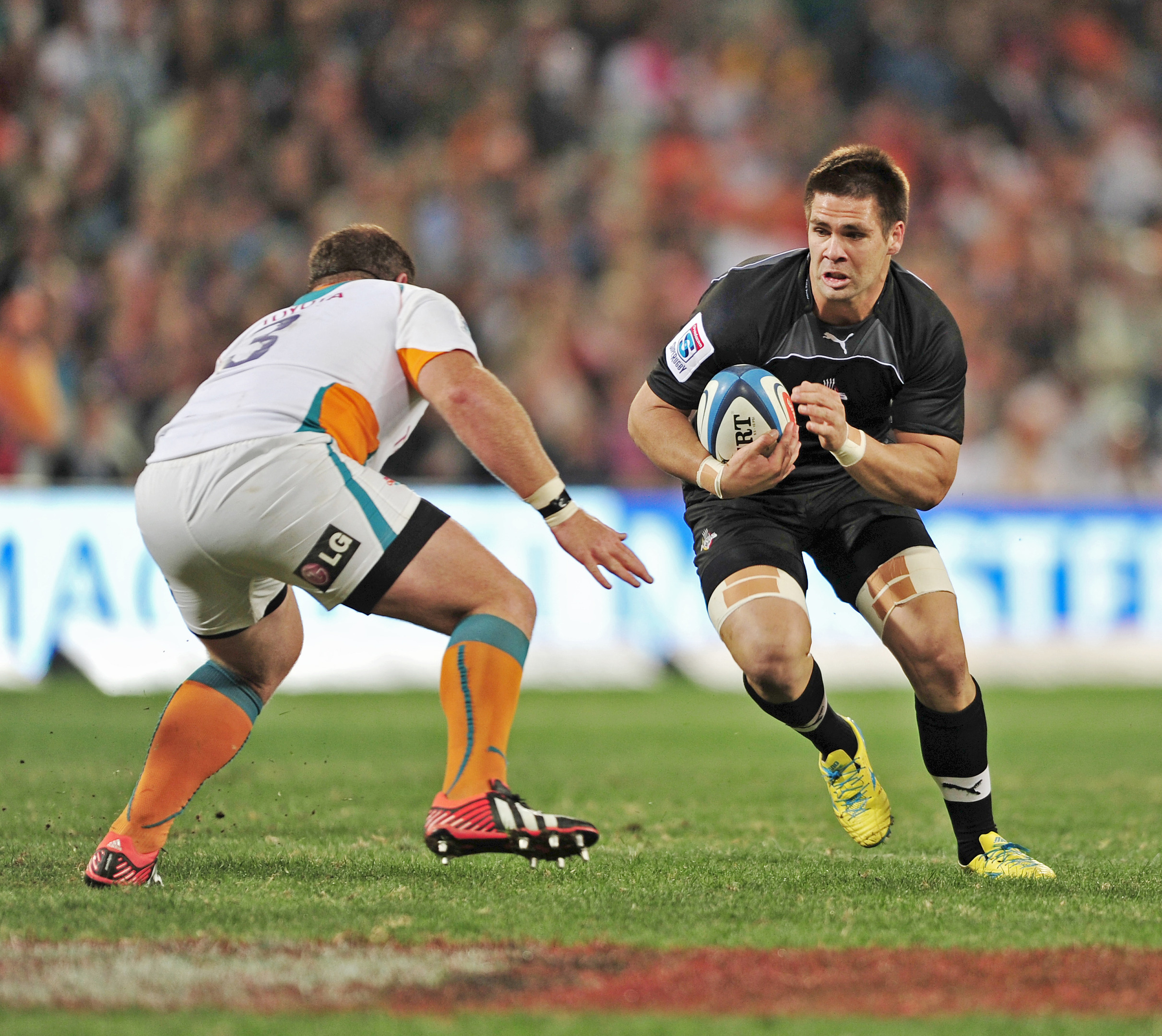 The Cheetahs and the Southern Kings in Super Rugby action.