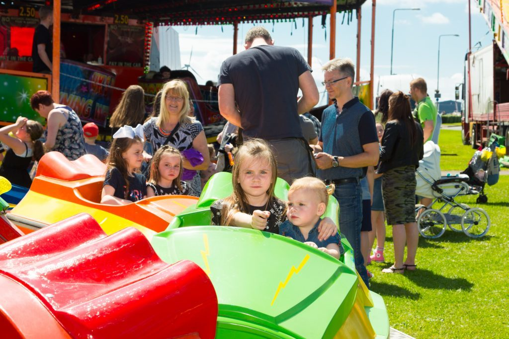 Locals and tourists gather at Leven's Promenade for Prom Fest