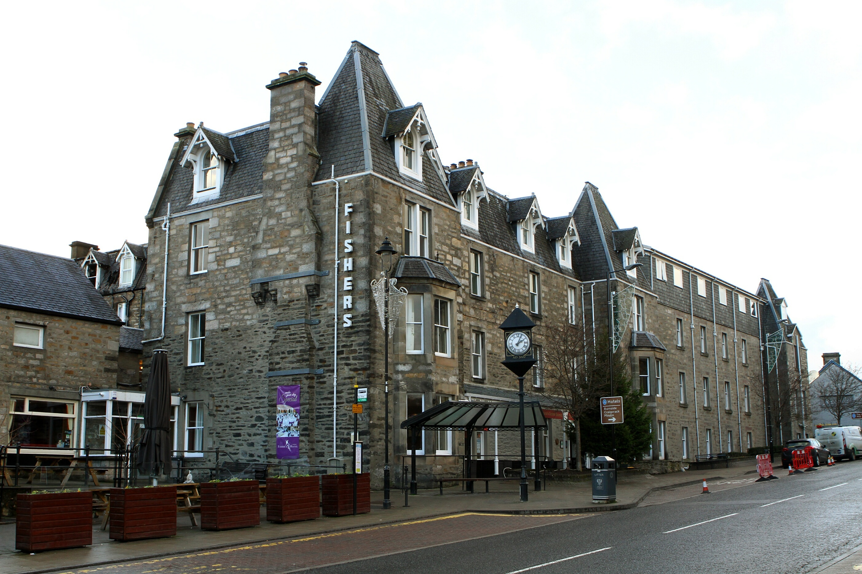 The Fisher's Hotel in Pitlochry.