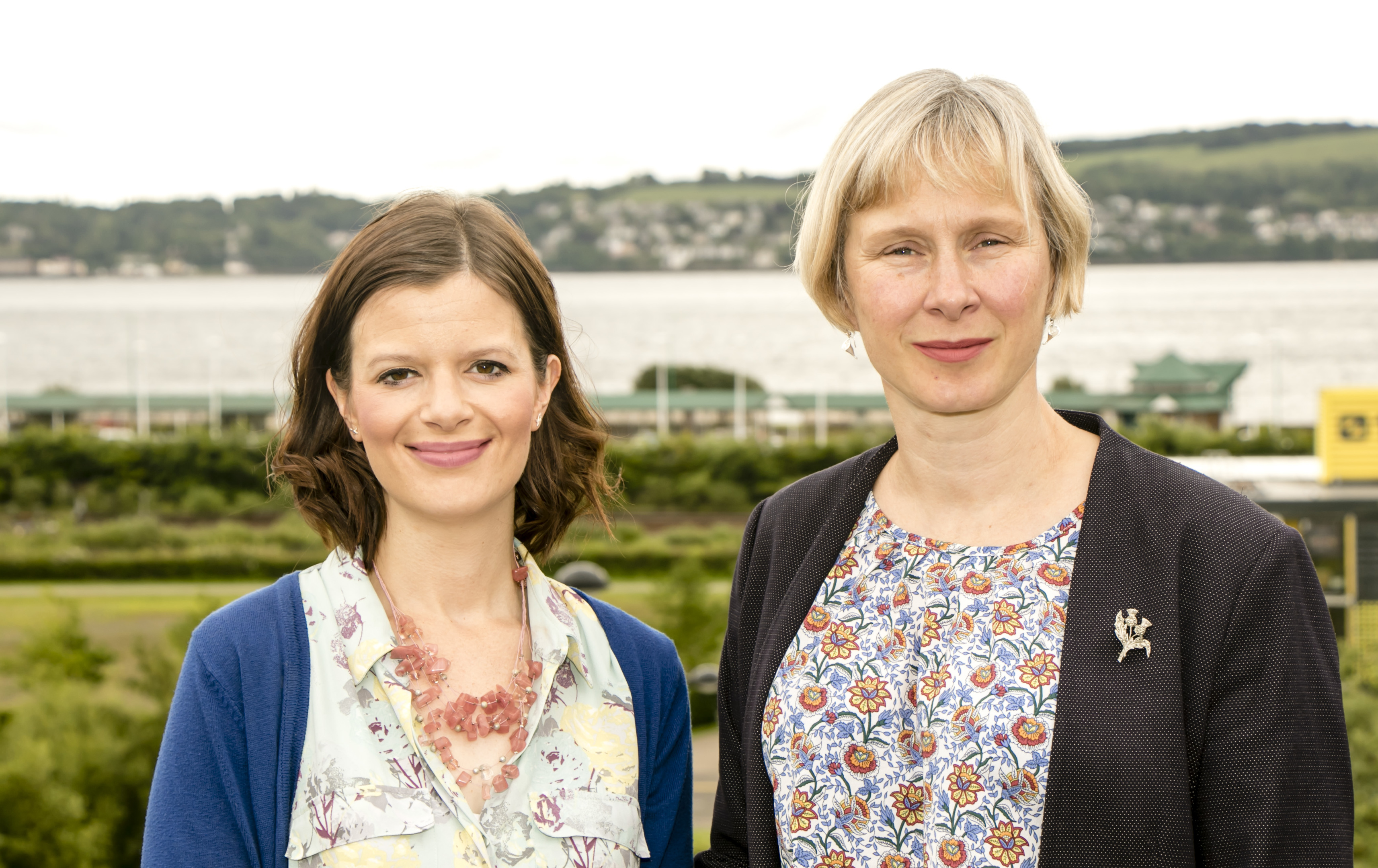 The secret keepers - Dr Anna Gavine and Professor Wendy Moncur.