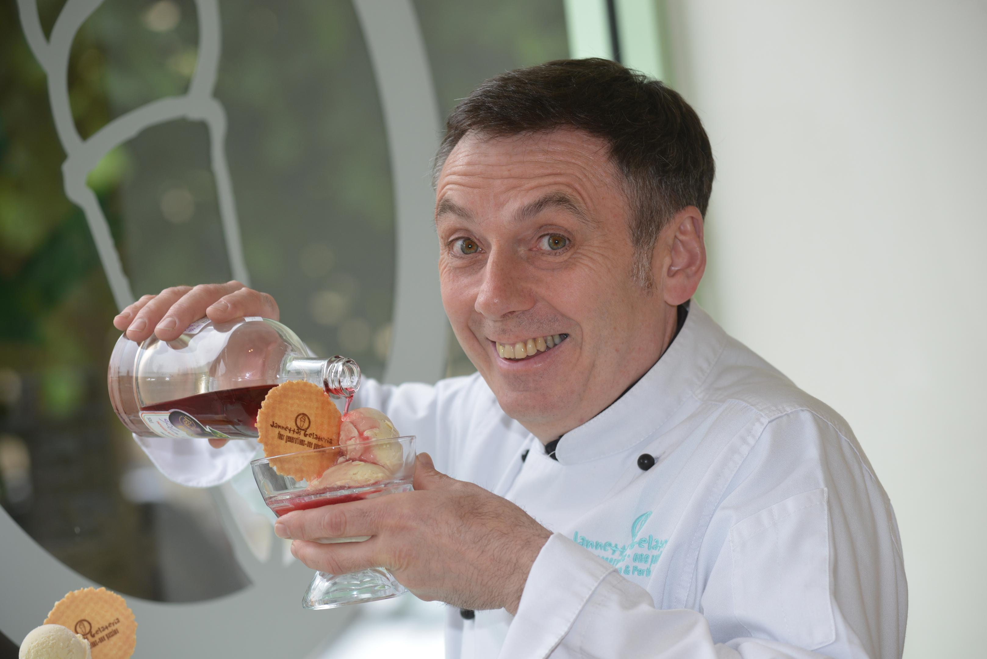 Owen Hazel concocts the new flavour