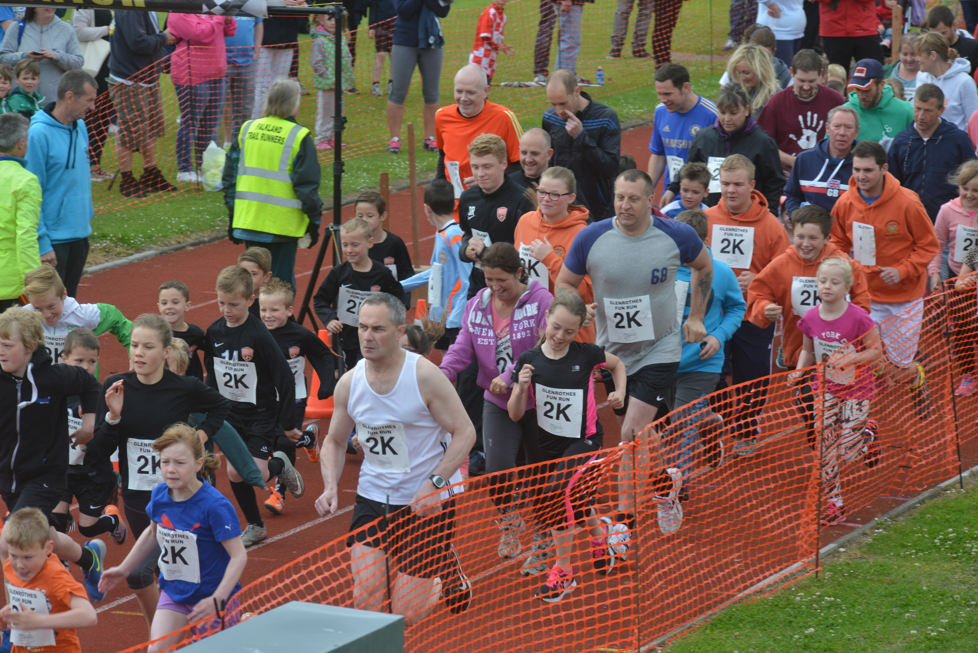 The Glenrothes Road Running Festival in previous years.