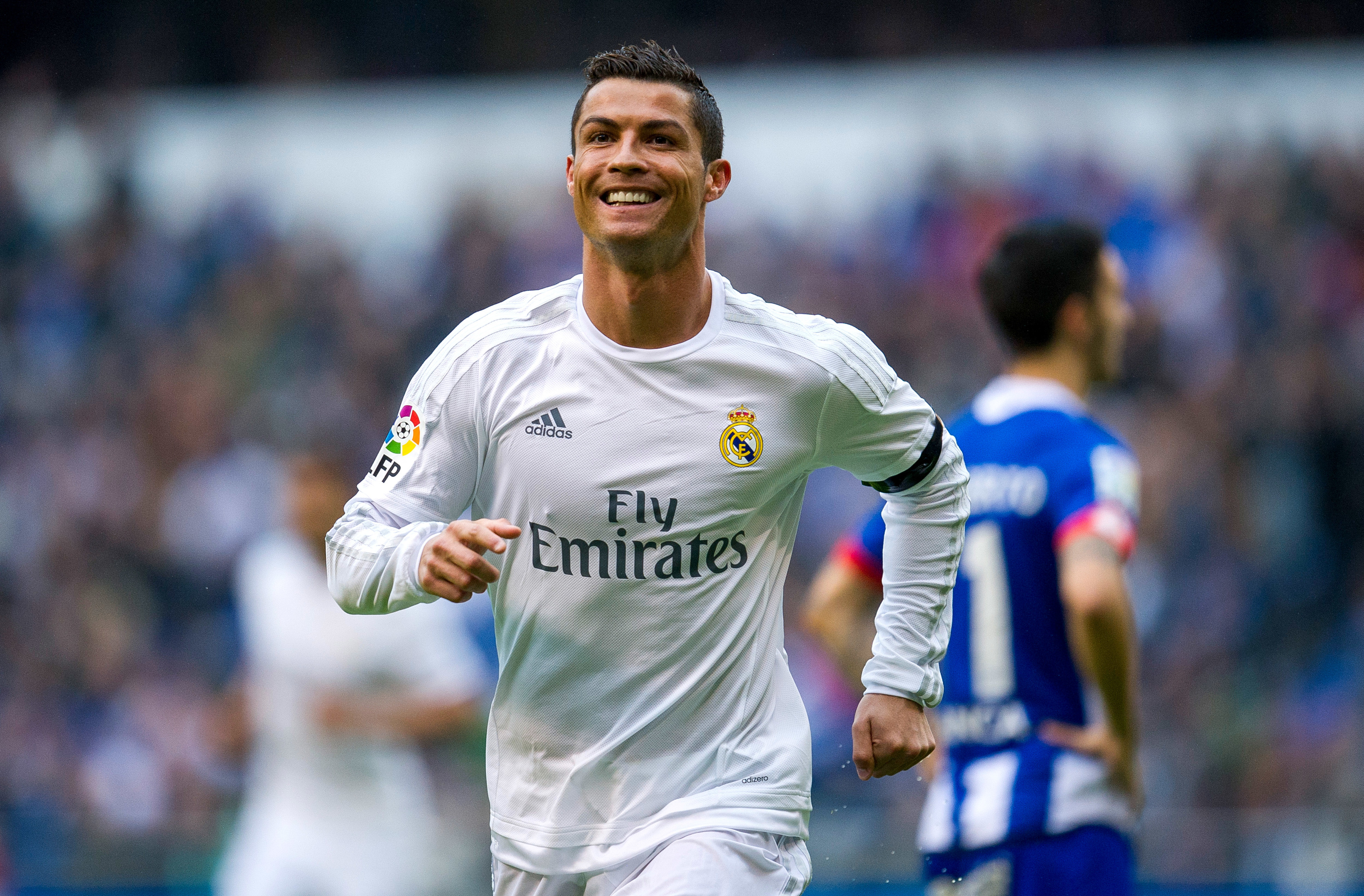 Cristiano Ronaldo of Real Madrid.