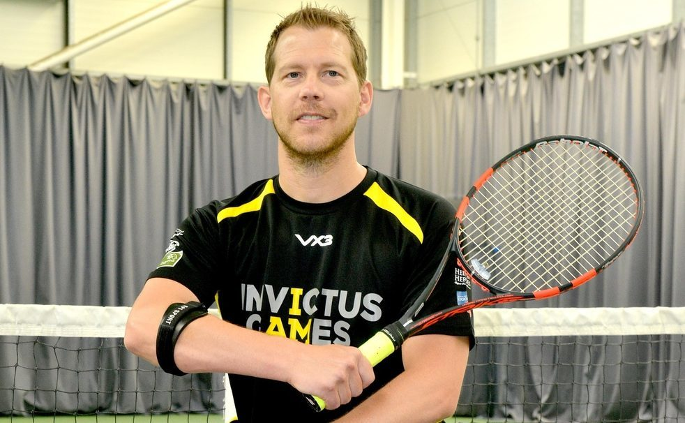 Kevin Drake, who will taking part in this year's Invictus Games in Toronto.