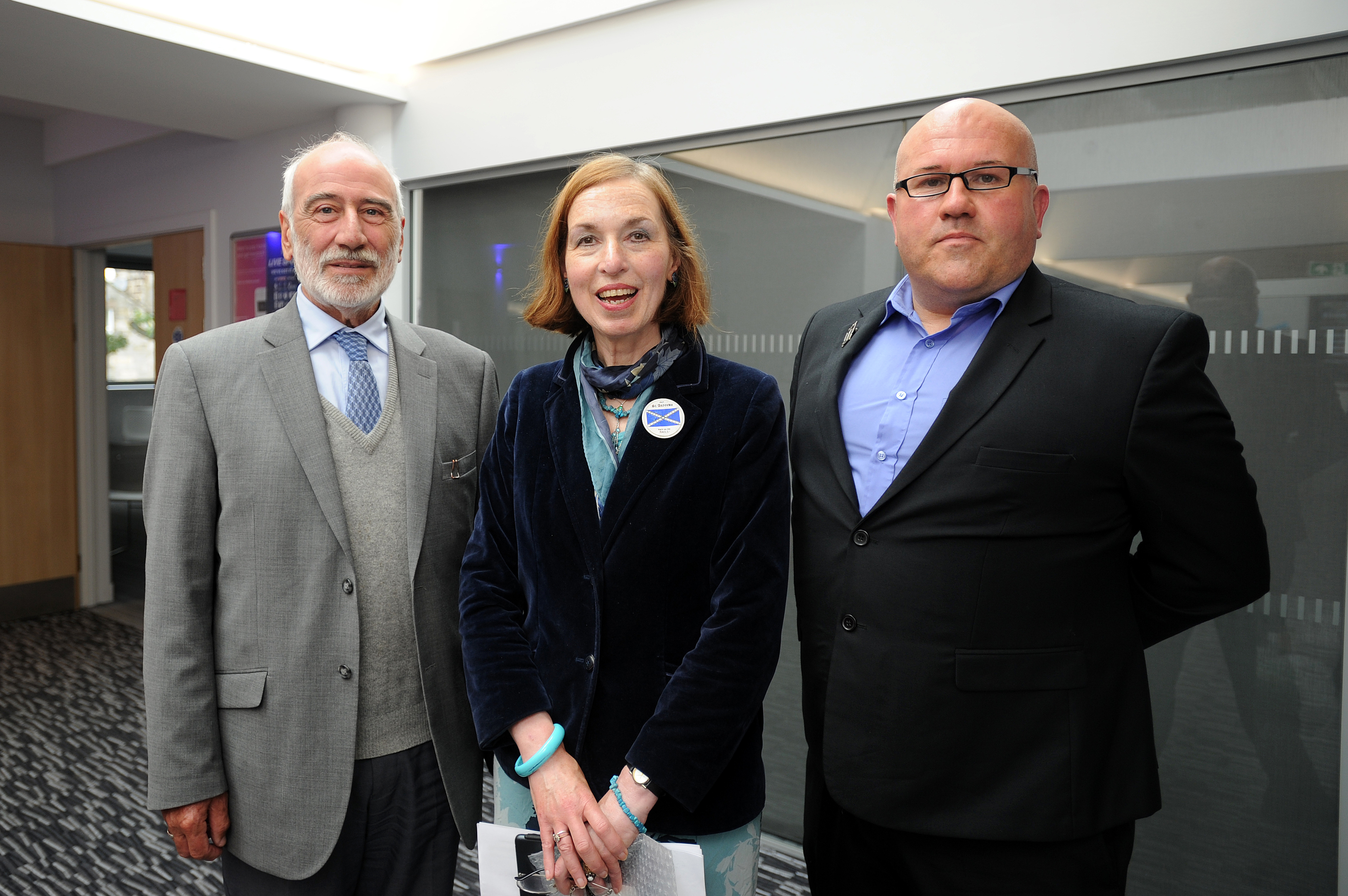 Members of the Starlink group who launched the study - Richard Batchelor, treasurer, Jane Ann Liston, convenor, and Dita Stanis-Traken, secretary.