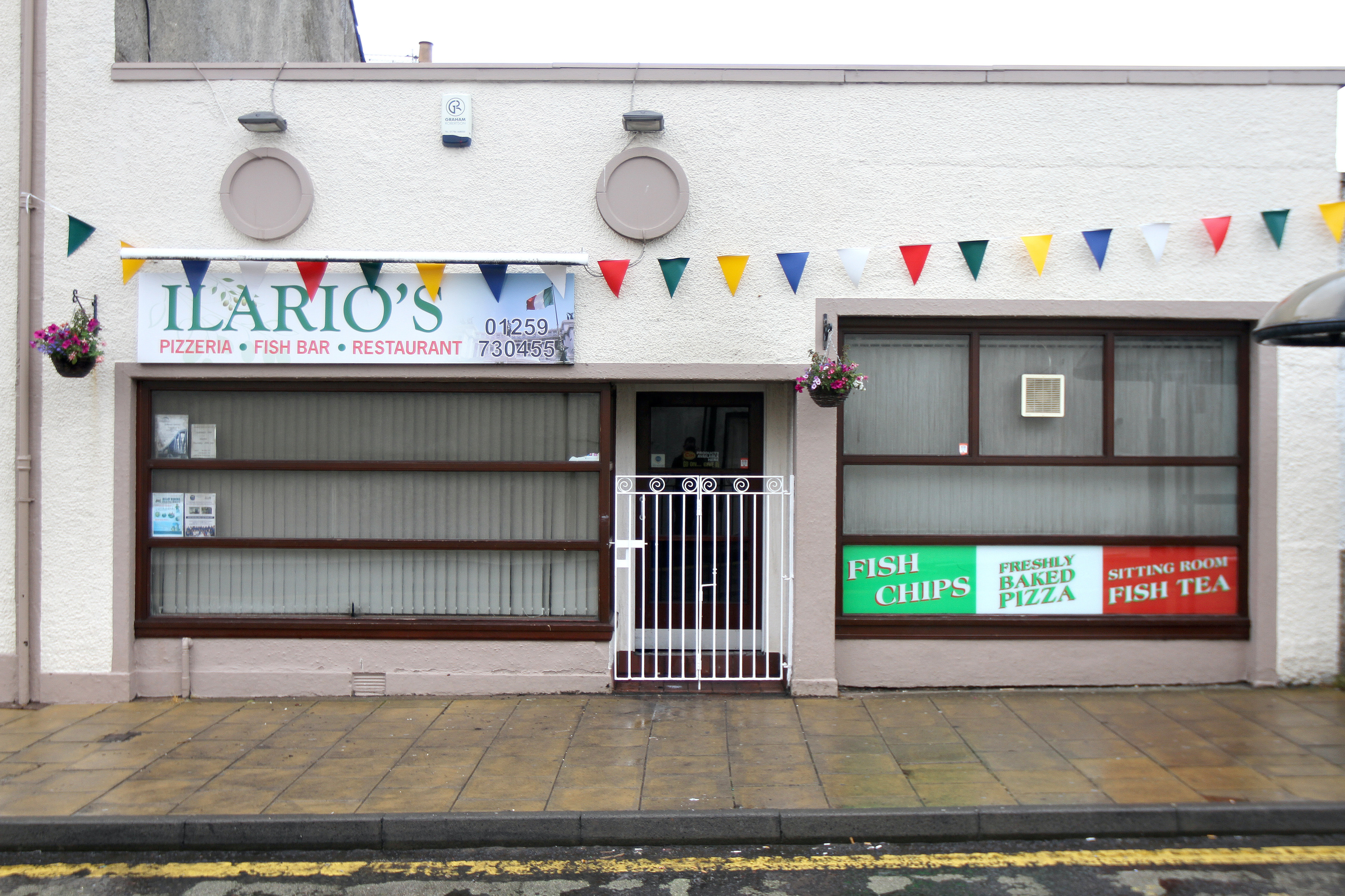 Ilario's was gutted by fire inside, although the building exterior of the building appeared unscathed