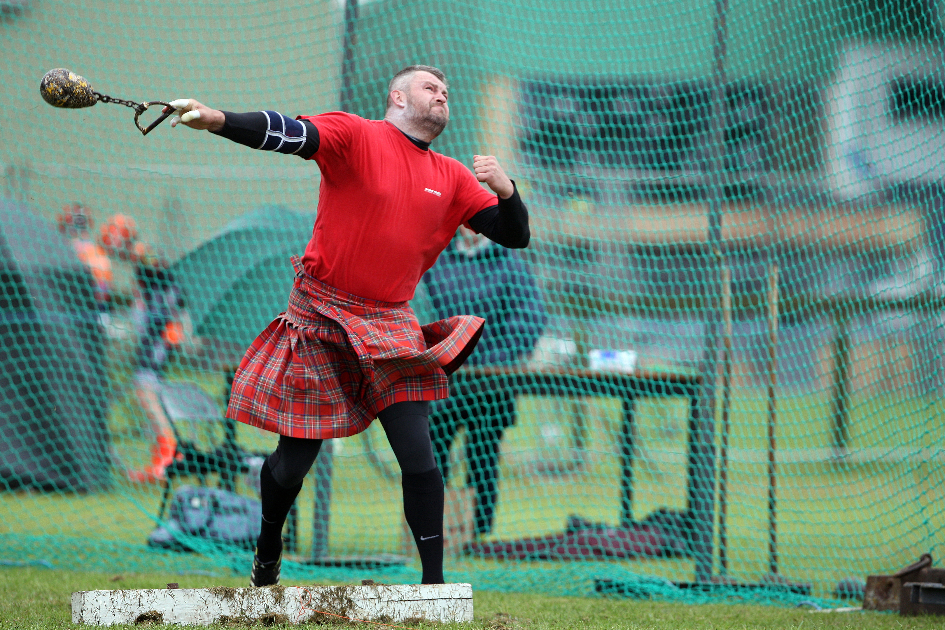 Some of the action from last year's event, but Cupar Highland Games will have to be rescheduled this year.