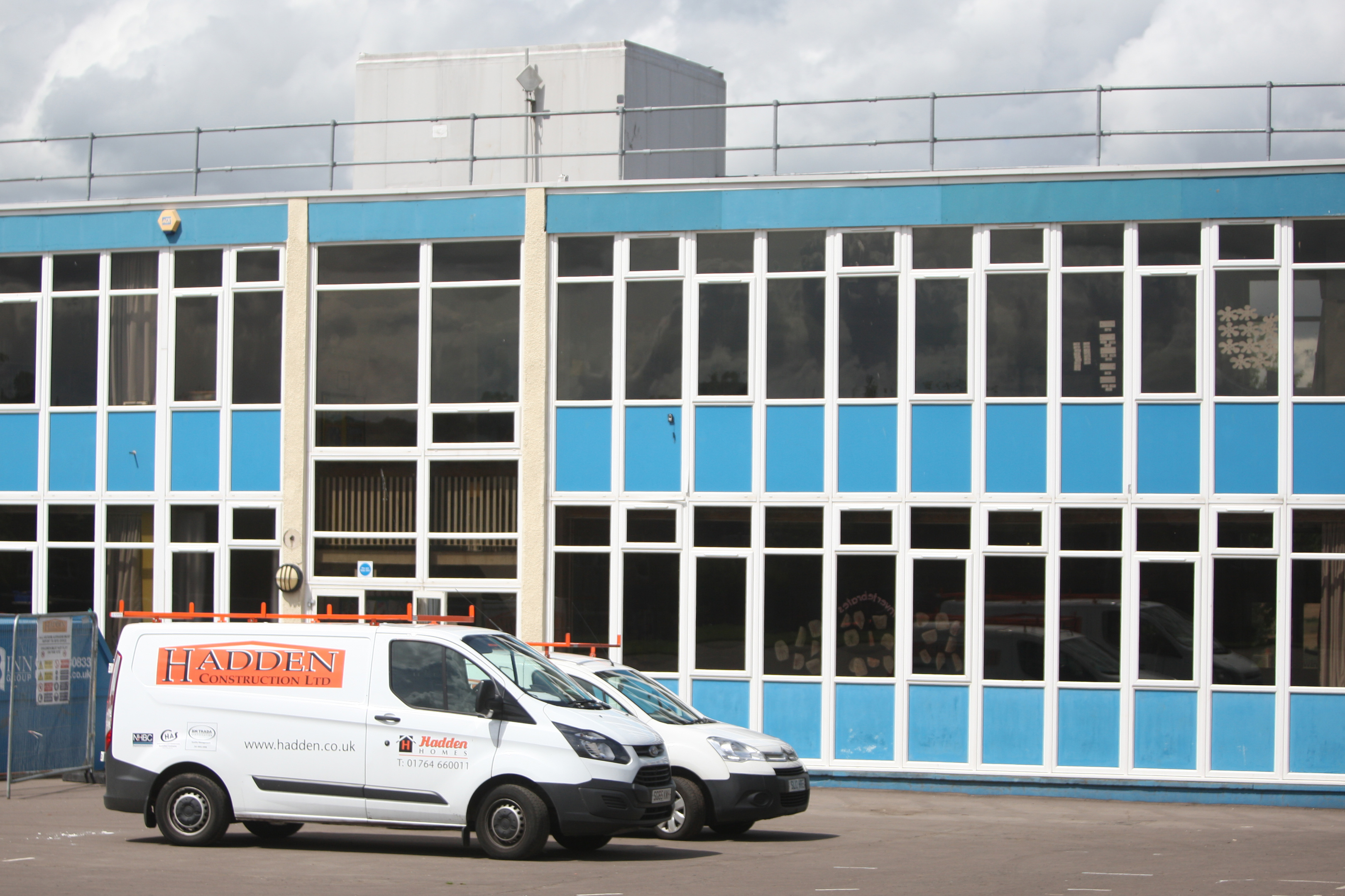 Repairs at Our Lady's were completed at the weekend, with pupils returning to classrooms on Tuesday.
