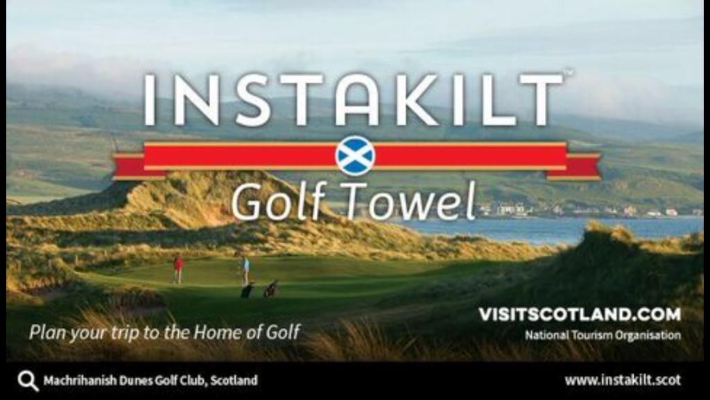 Instakilt VisitScotland partnership