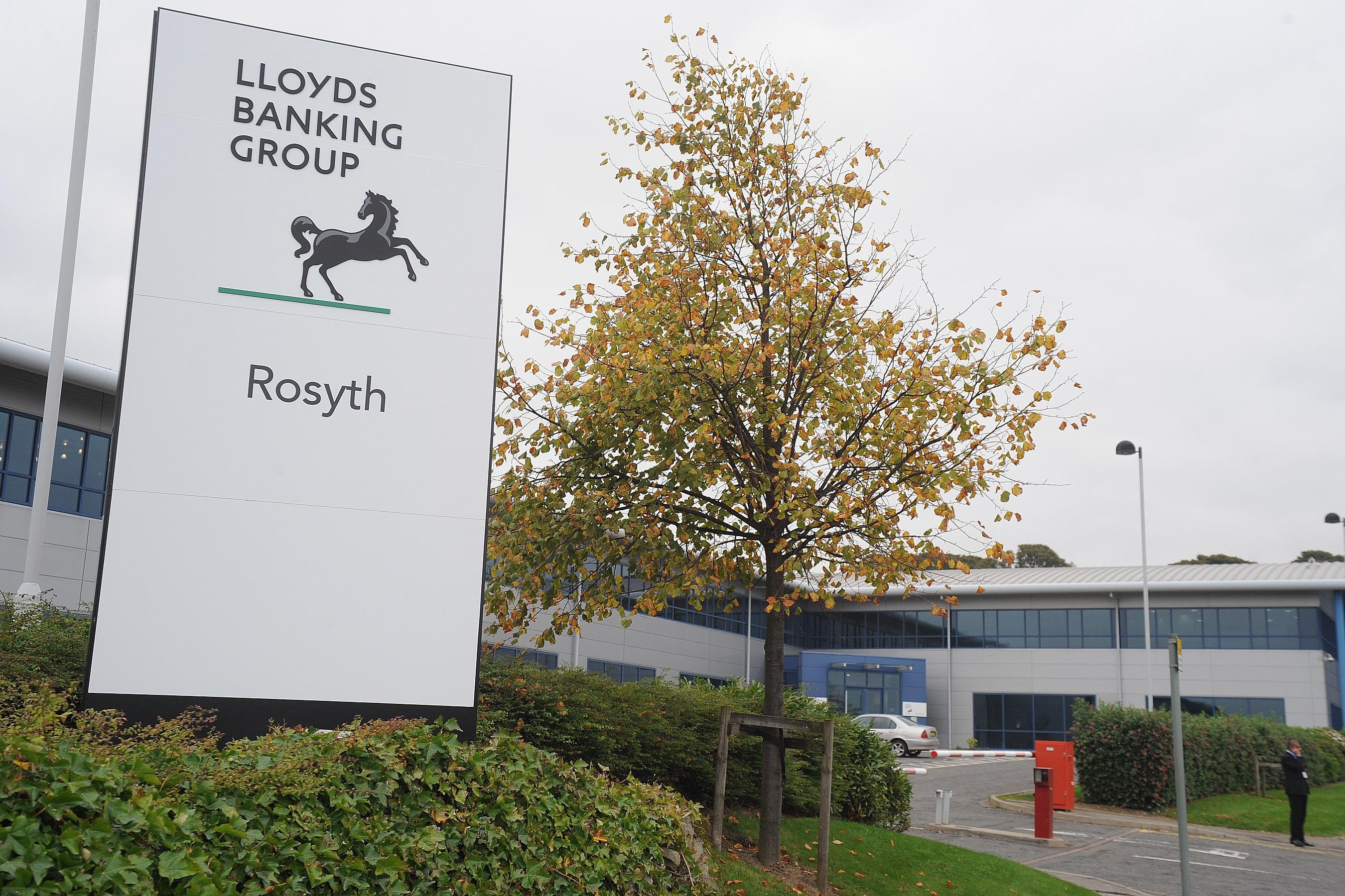 LLoyds Banking Group's Rosyth facility