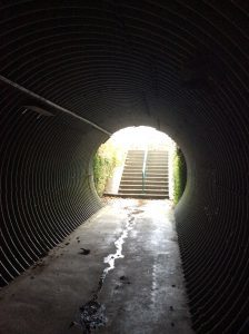 The current underpass at Loch Leven