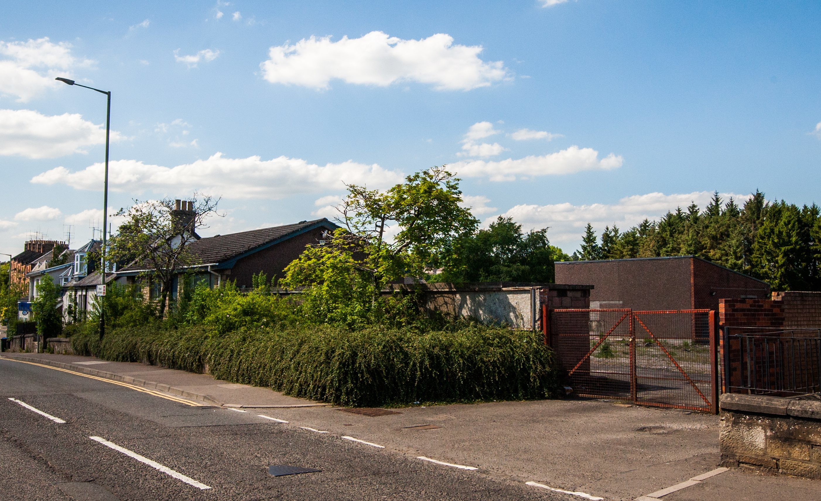 The site of the proposed mosque, Jeanfield Road, Perth