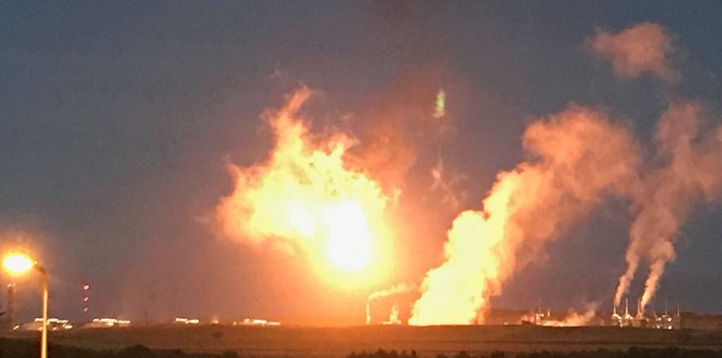 Flaring at Mossmorran caused widespread alarm