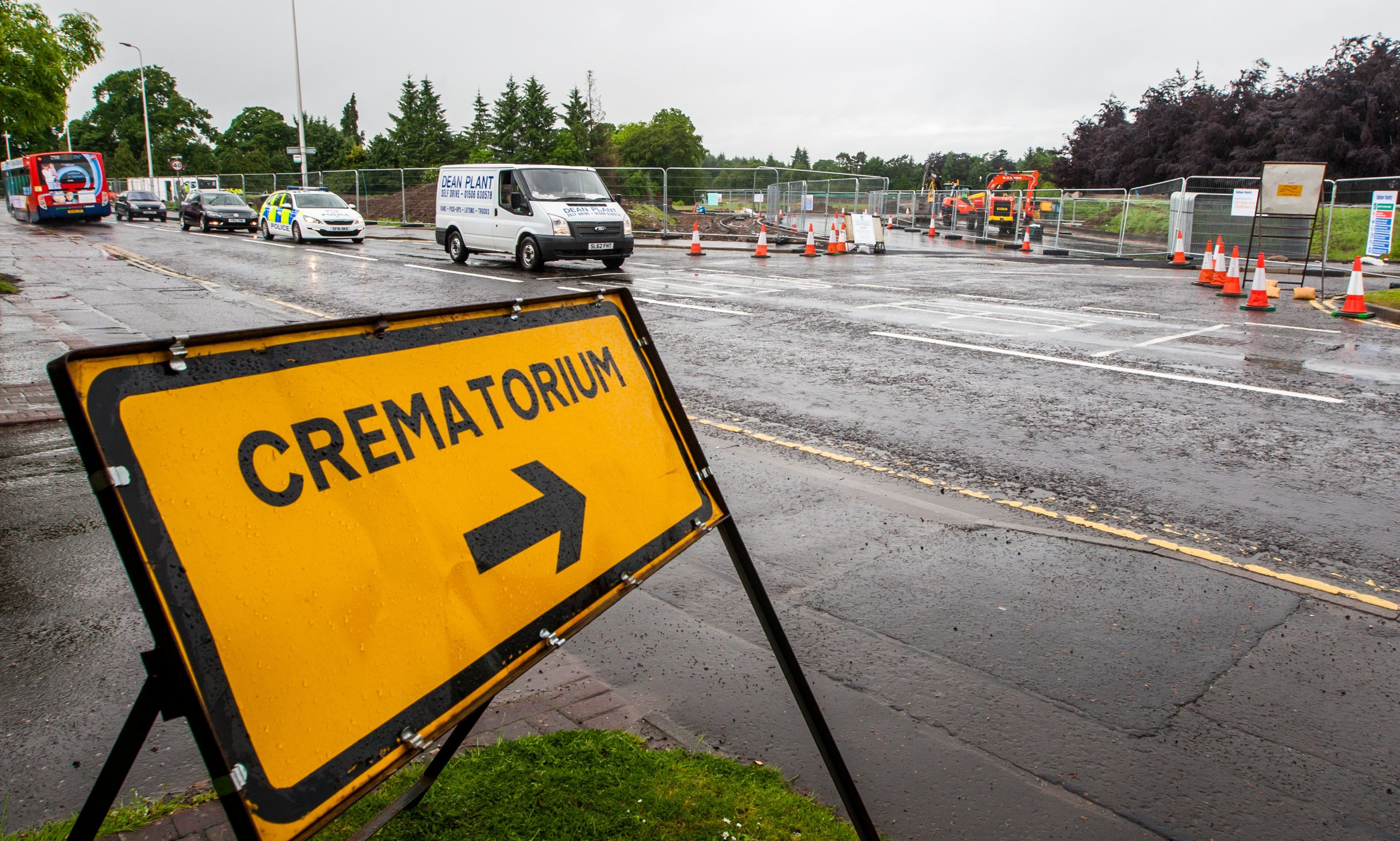 Work begins on Perth Crematorium.