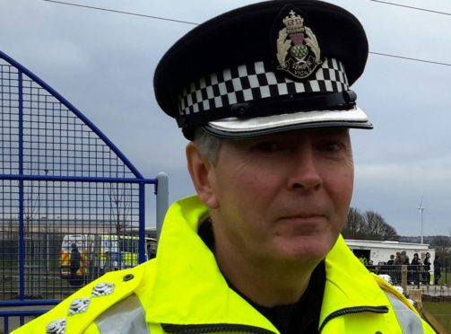 Chief Inspector Ian Scott, area commander of Perth and Kinross.