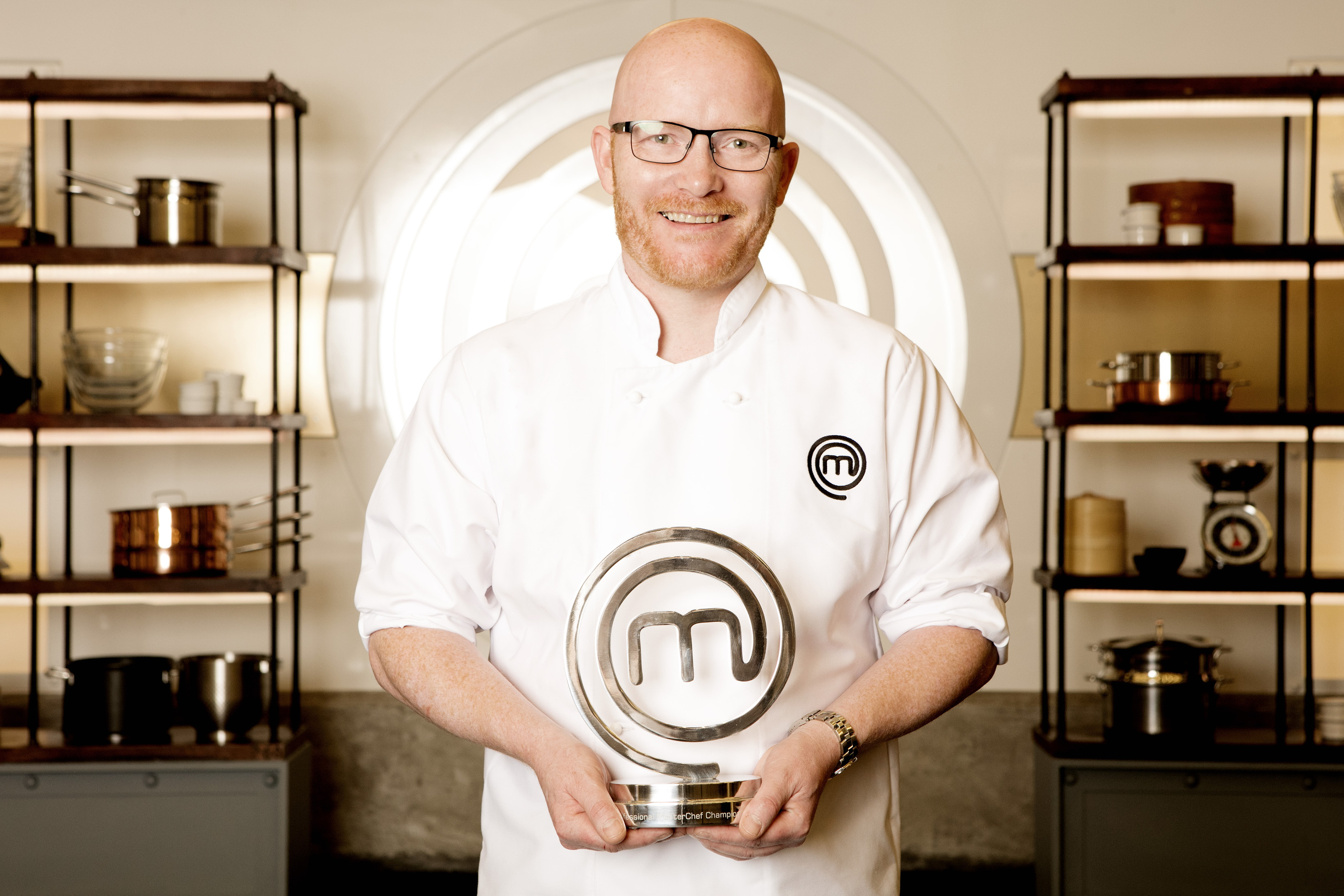 MasterChef: The Professionals 2016 winner Gary McLean.