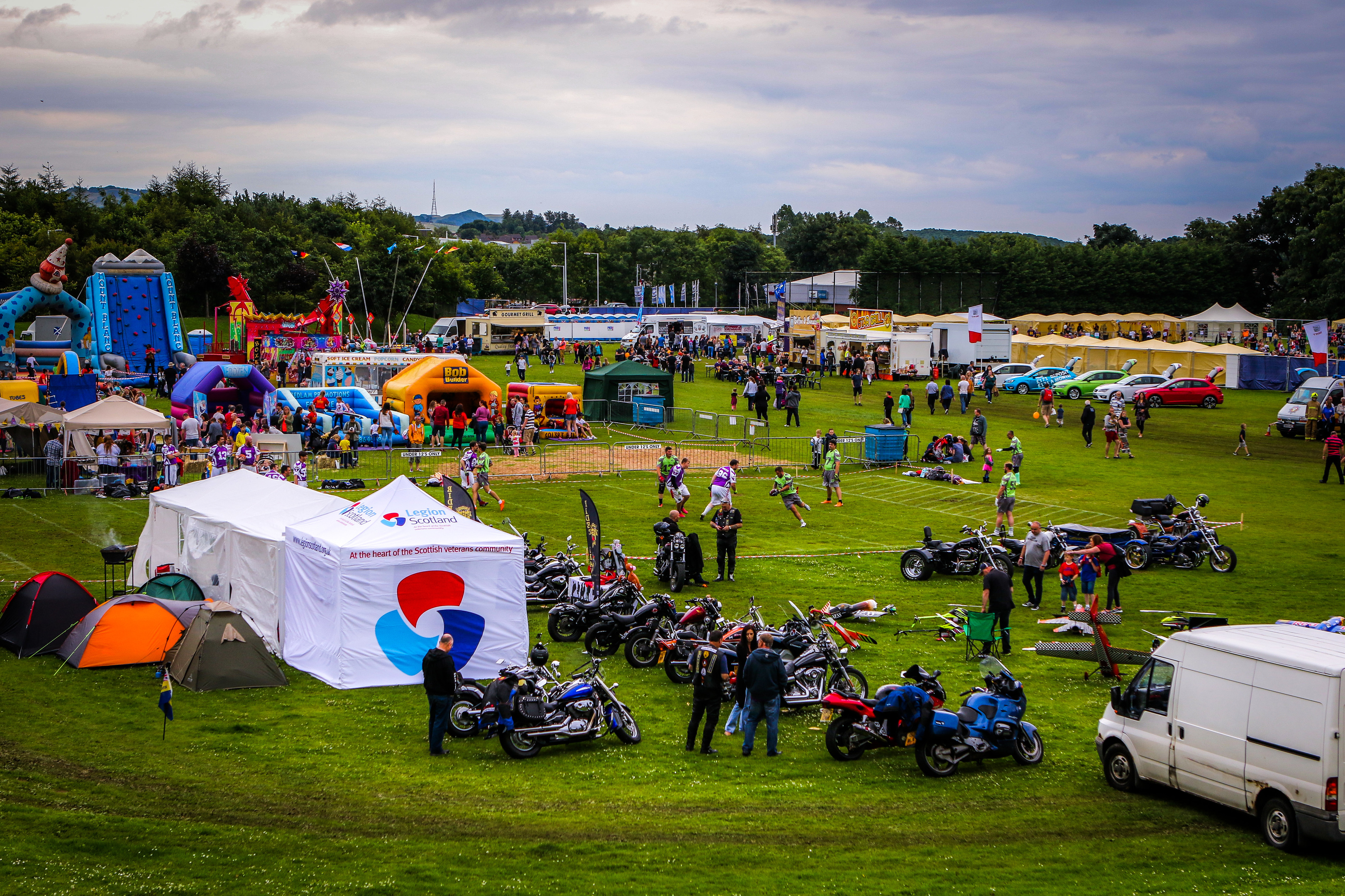 Last year's PKD Festival at Dalgety Bay. The festival is on the move this year.