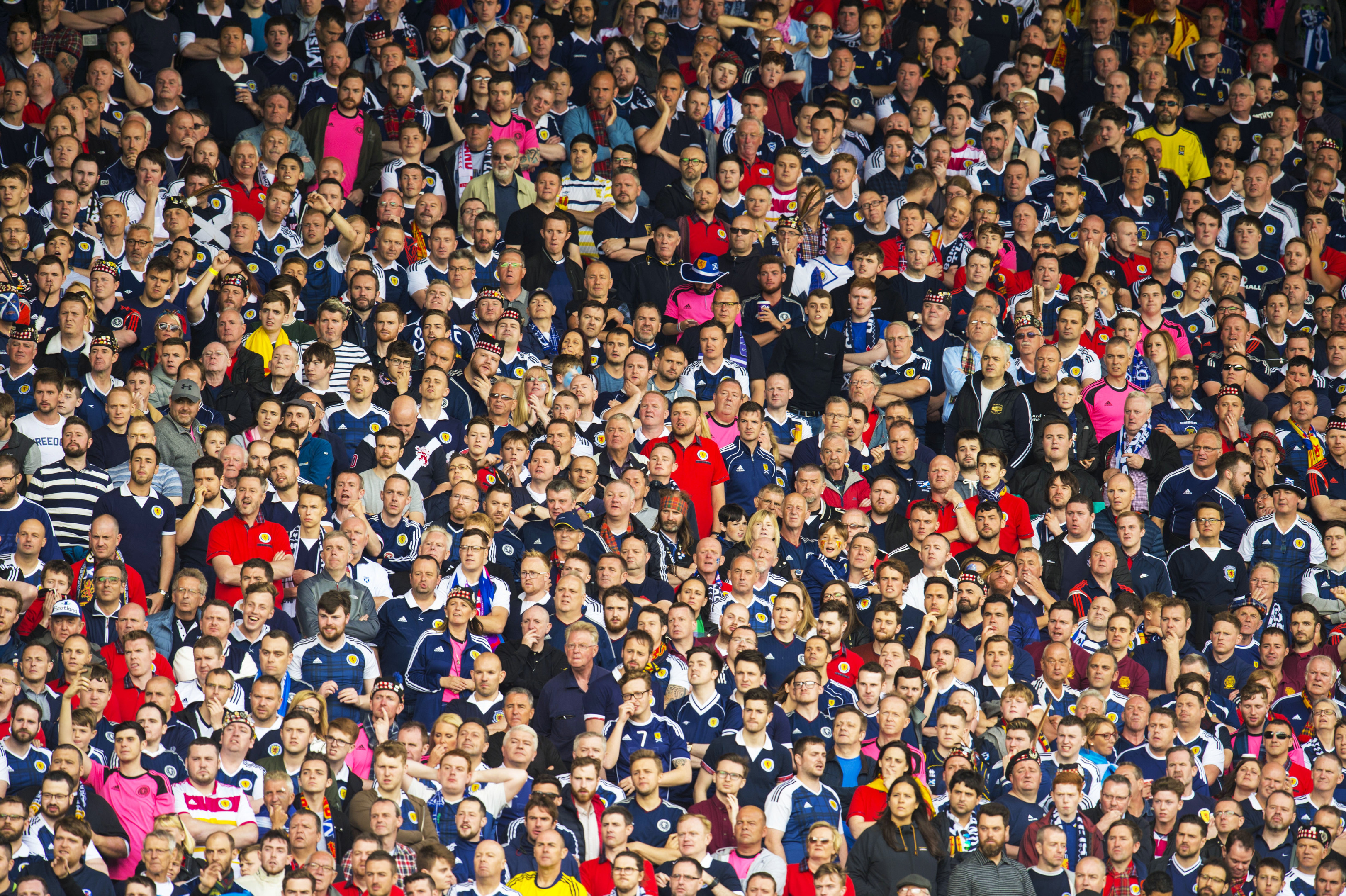 The fans say they were scammed out of the chance of watching the Hampden clash.