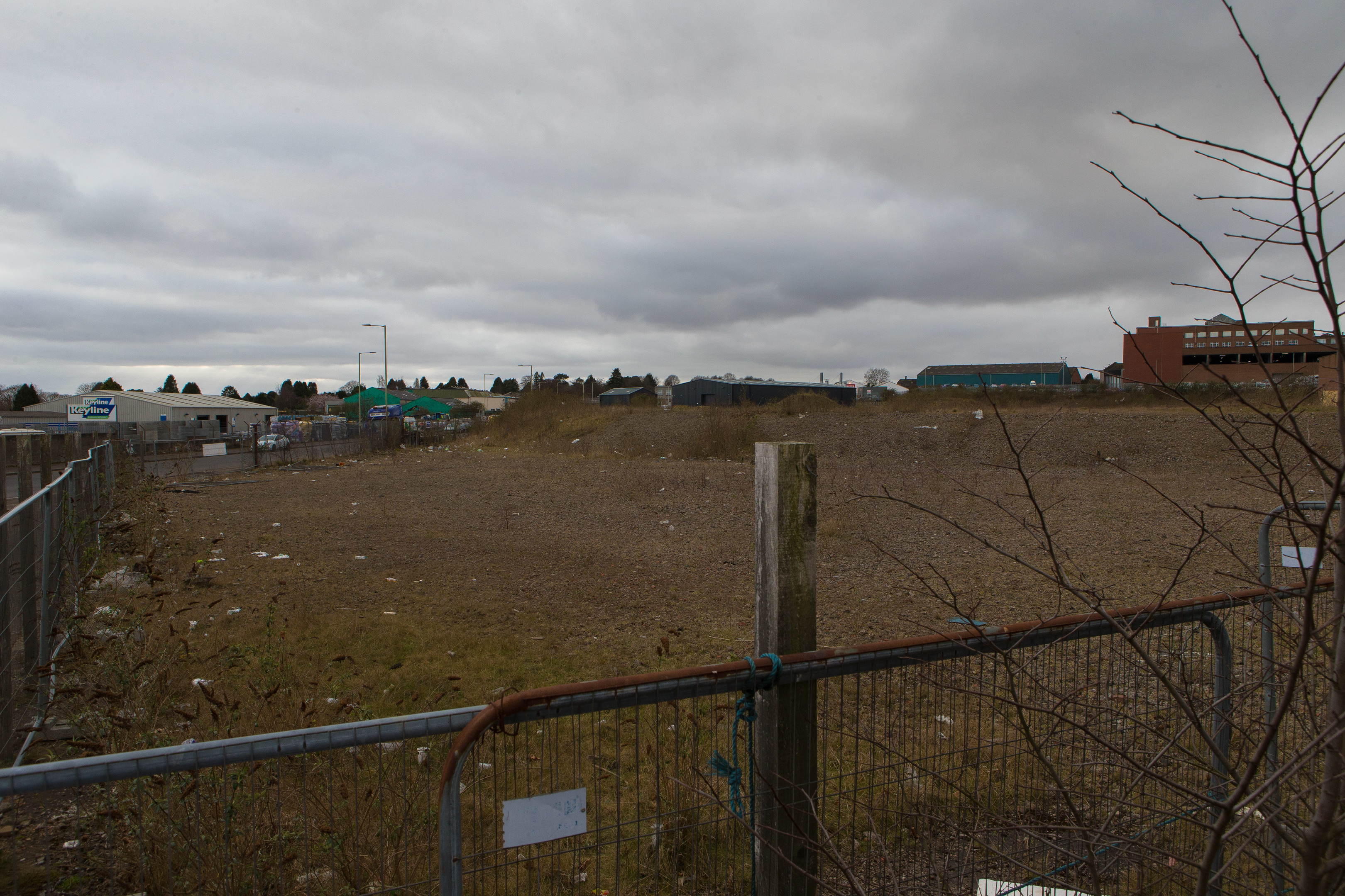 The site of the proposed new store.