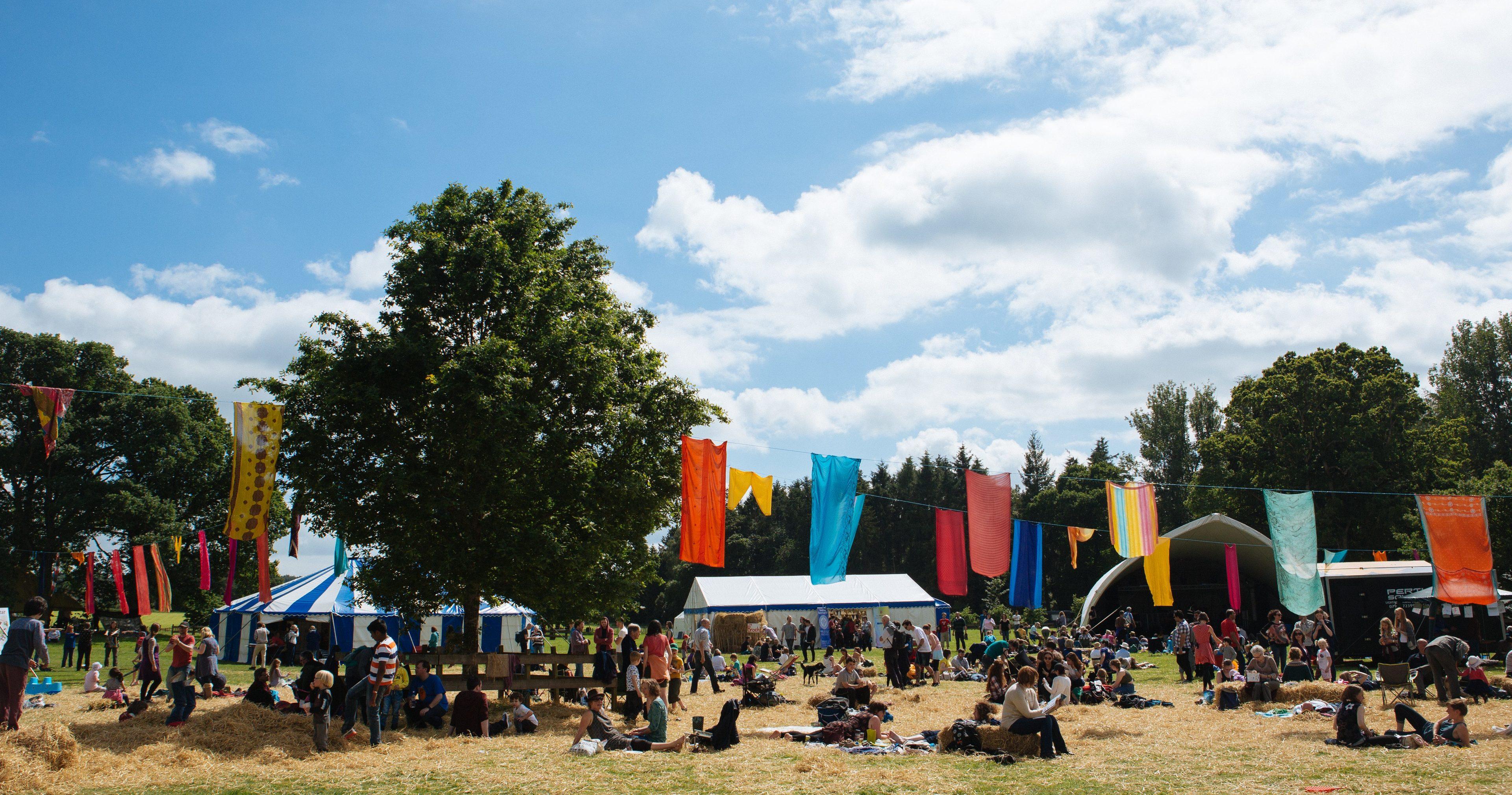 Last year's Solas Festival in Perthshire.