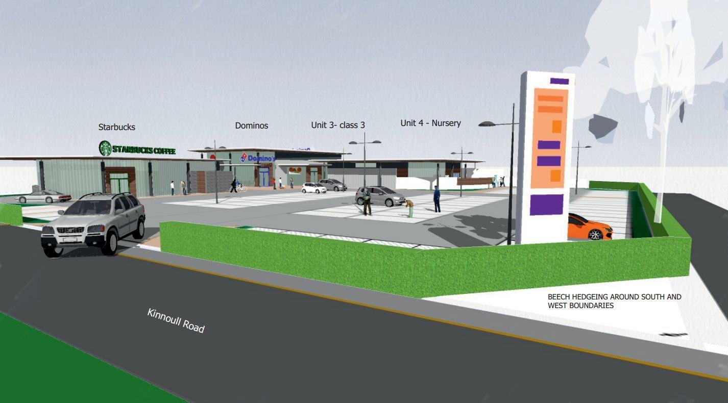 The proposed Dunsinane Industrial Estate development.