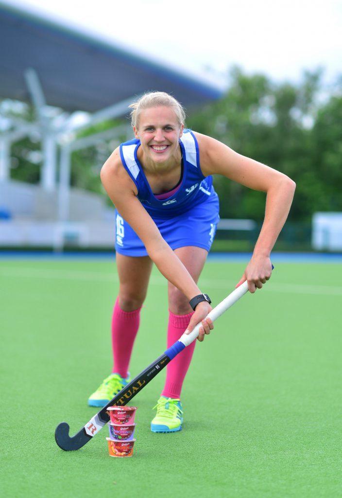 Team Captain Becky Merchant, 28, Edinburgh