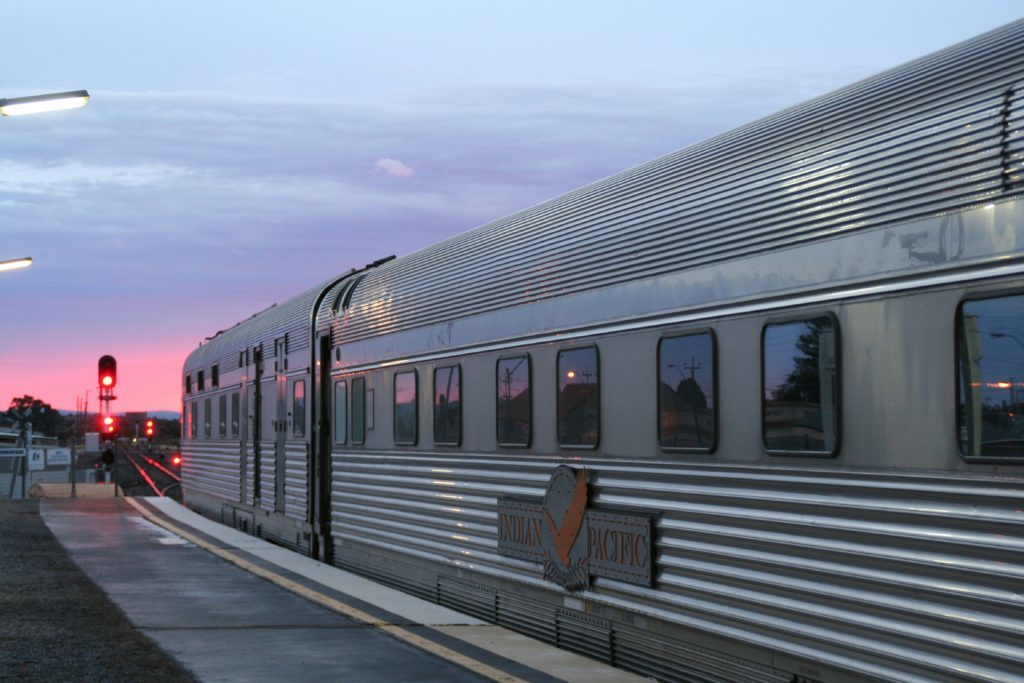 The majestic Indian Pacific.