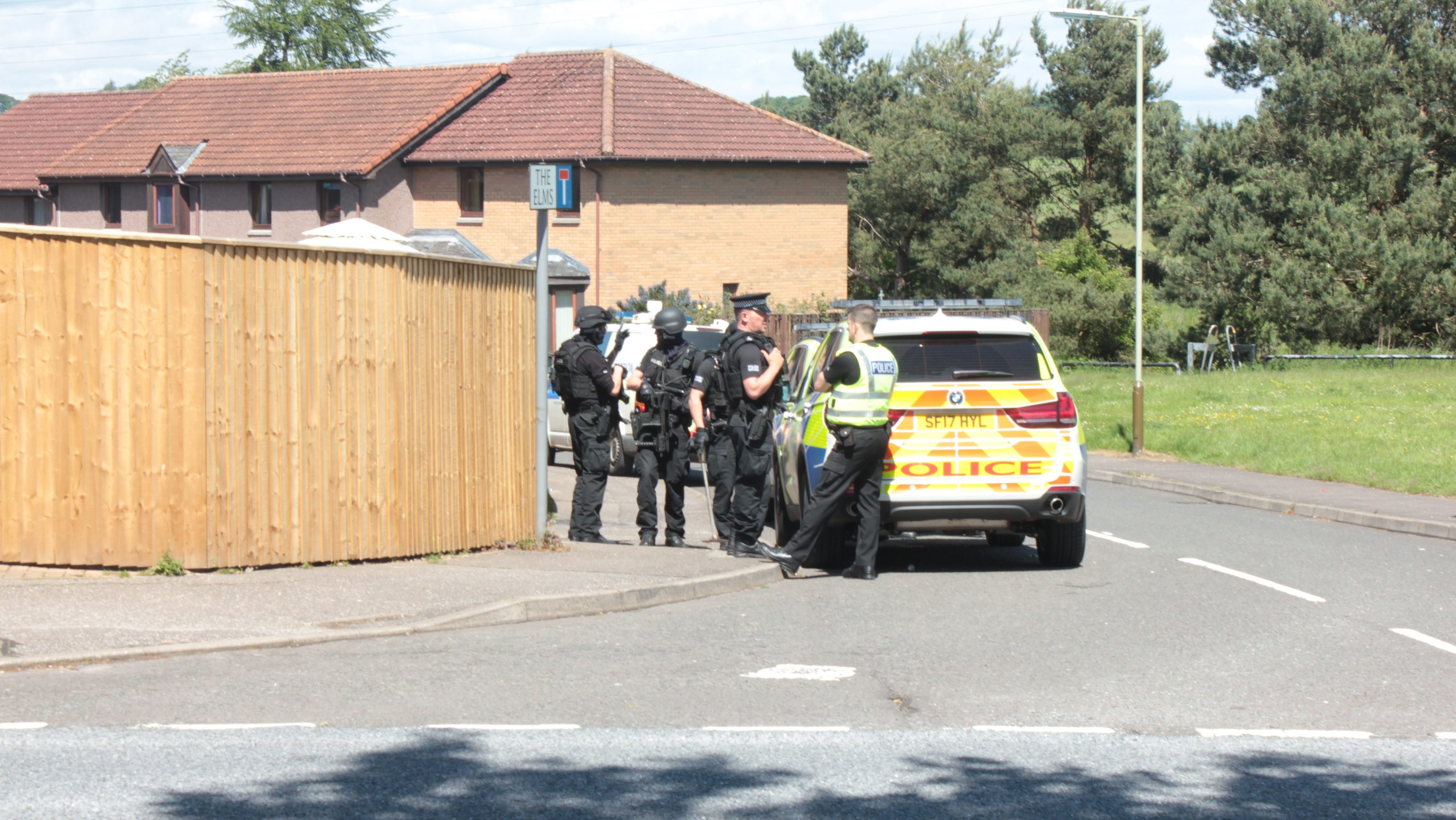 Armed police have been deployed in communities in Dundee twice in the last week.