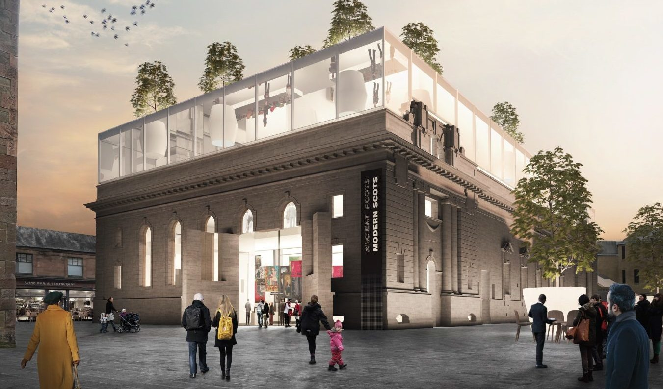 One of the five visions for Perth City Hall.