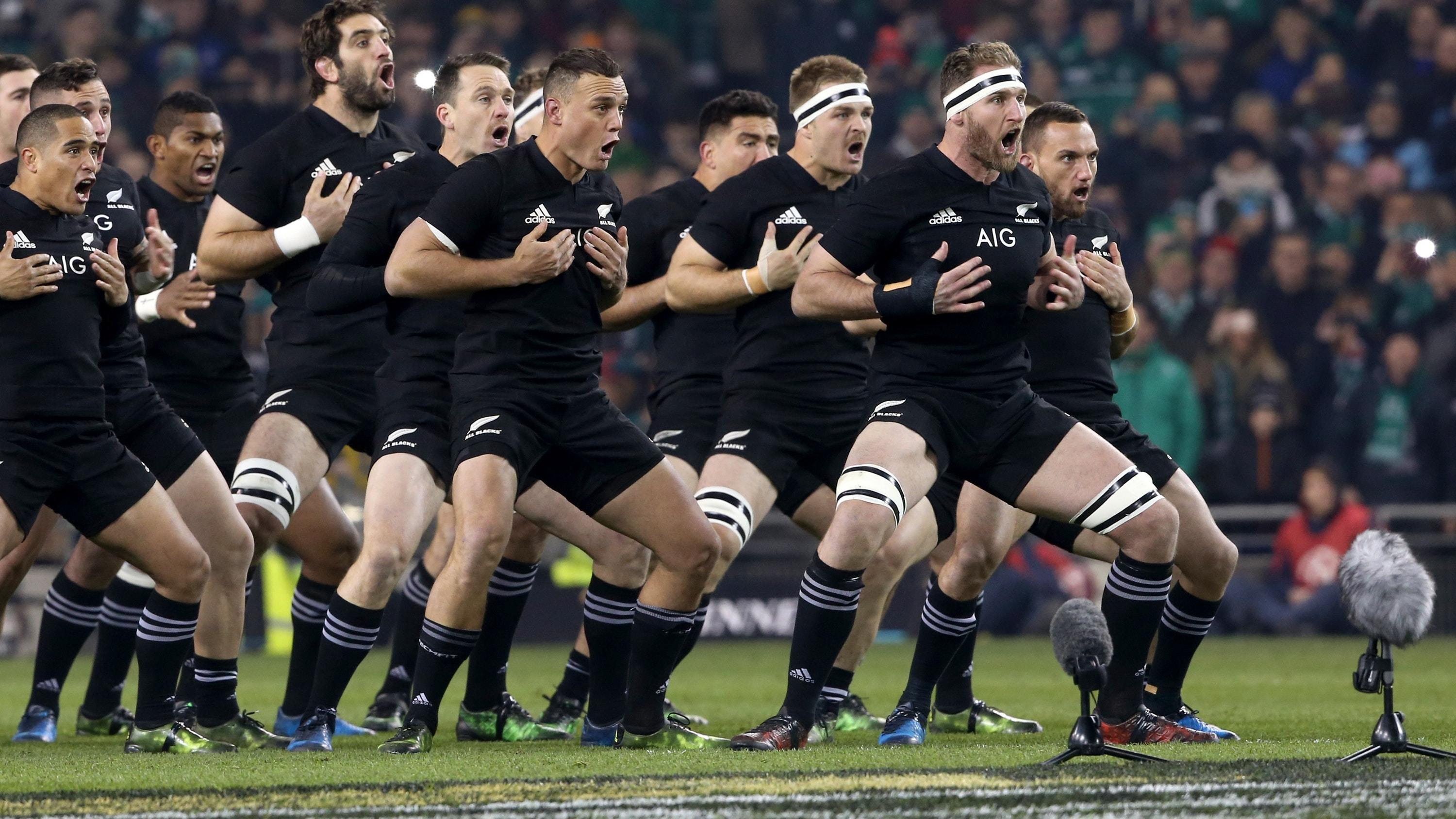 The Haka in action