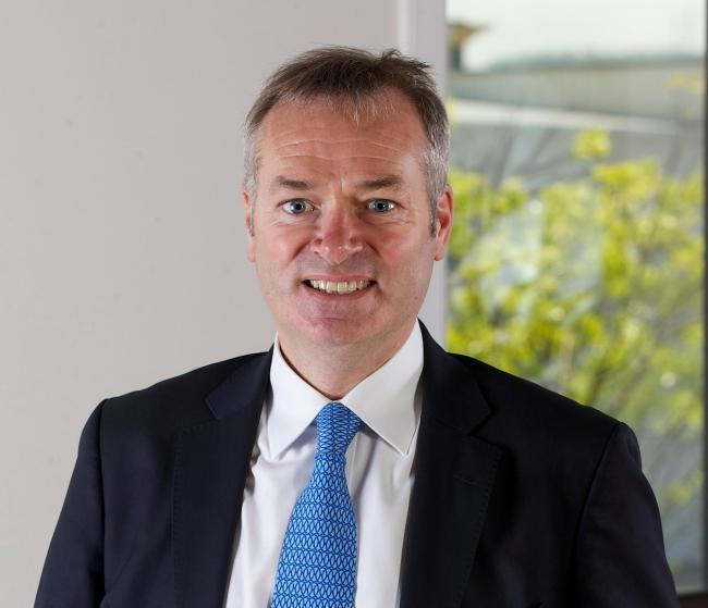 Stagecoach Group Chief Executive Martin Griffiths