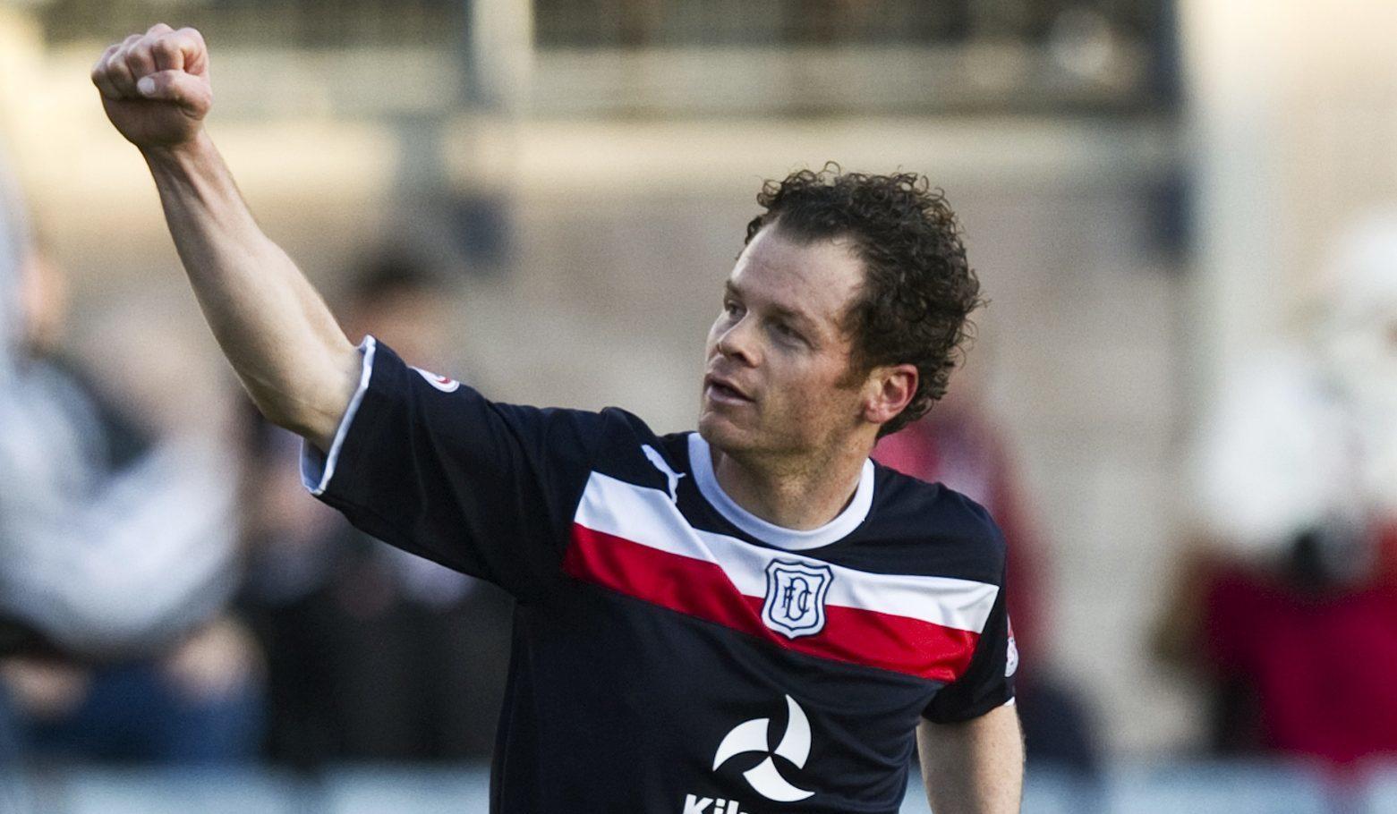 Matt Lockwood appearing for Dundee in 2012.
