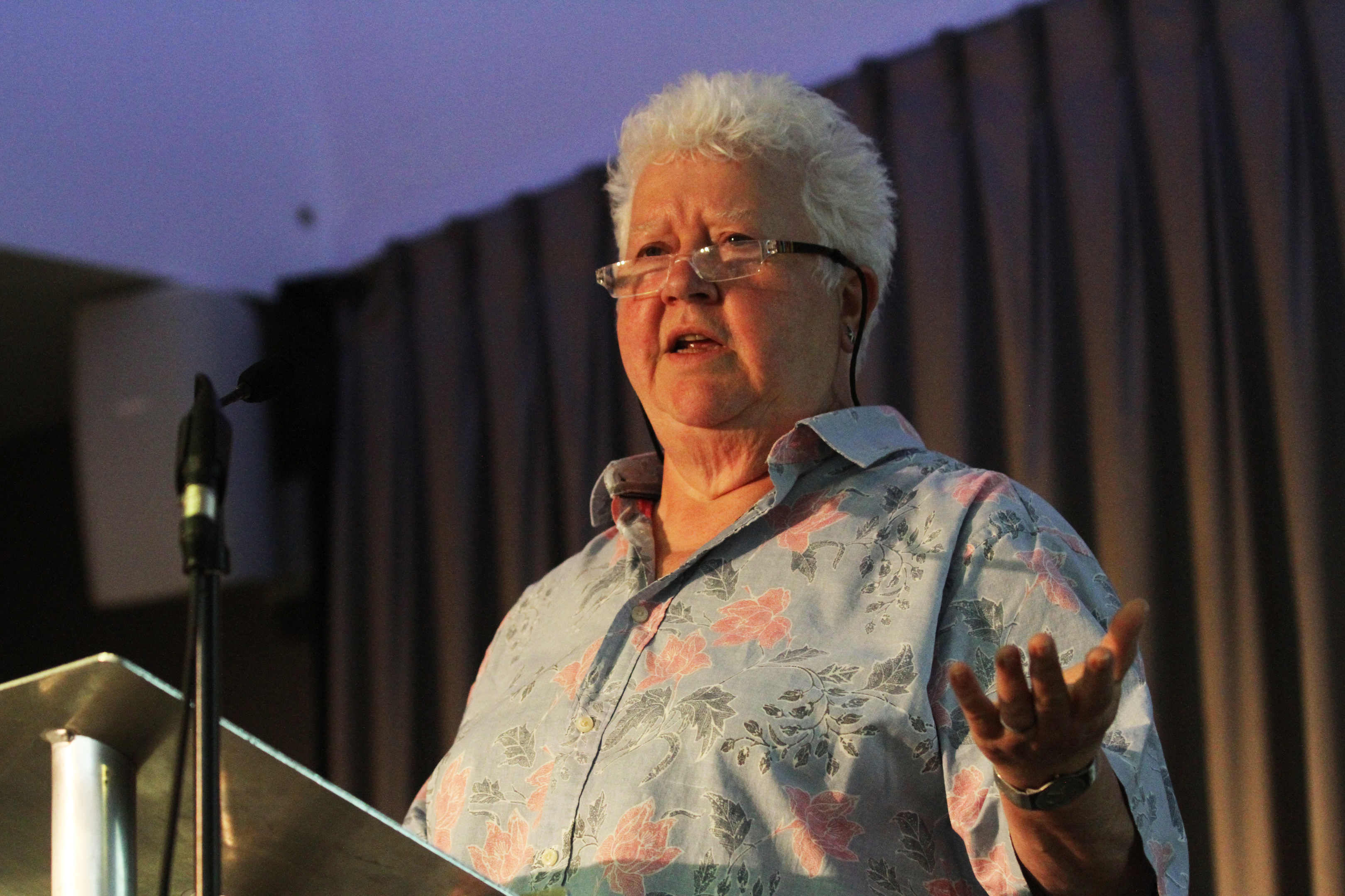 Author Val McDermid.