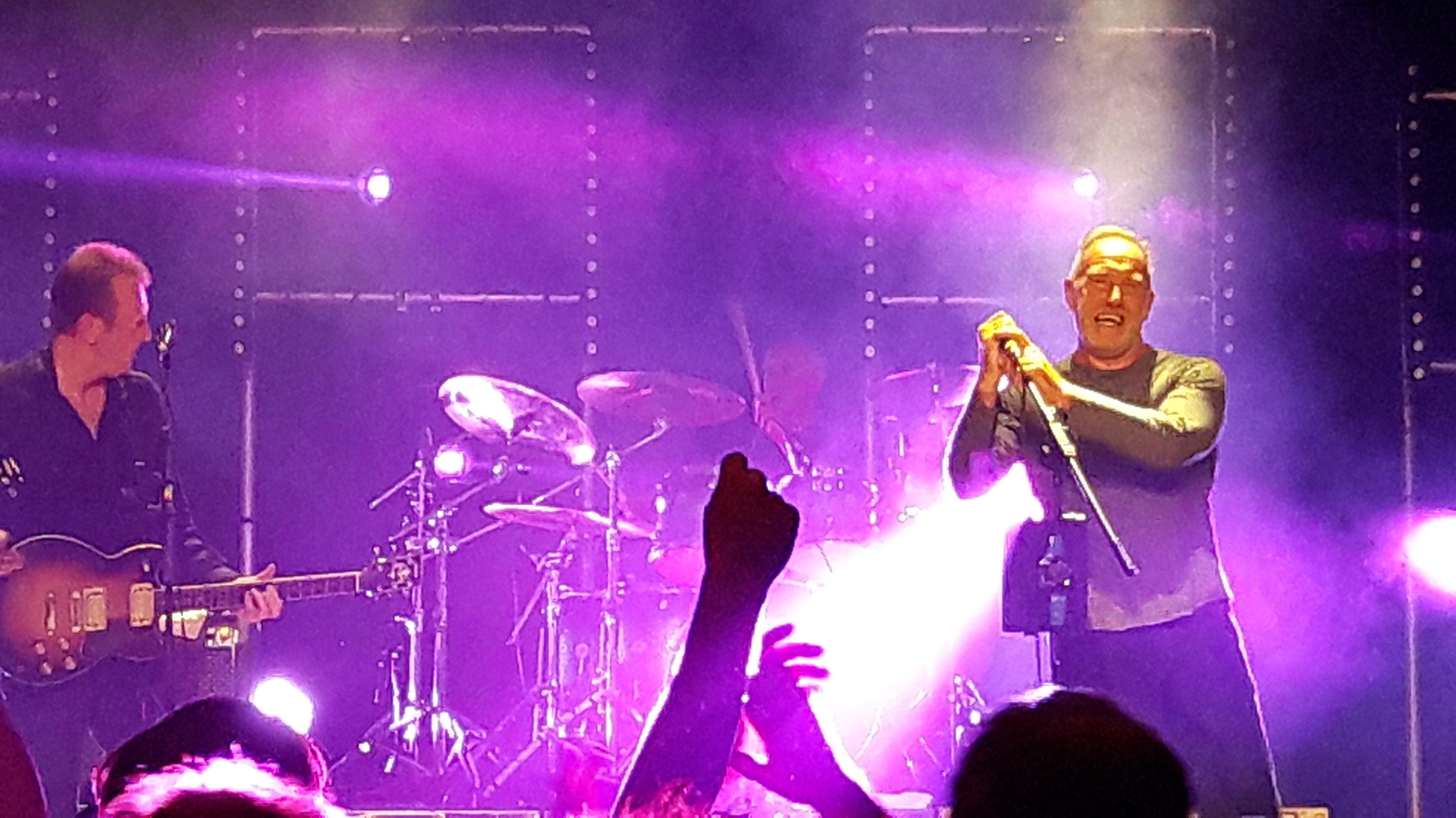 The Skids on stage at Montrose Town Hall
