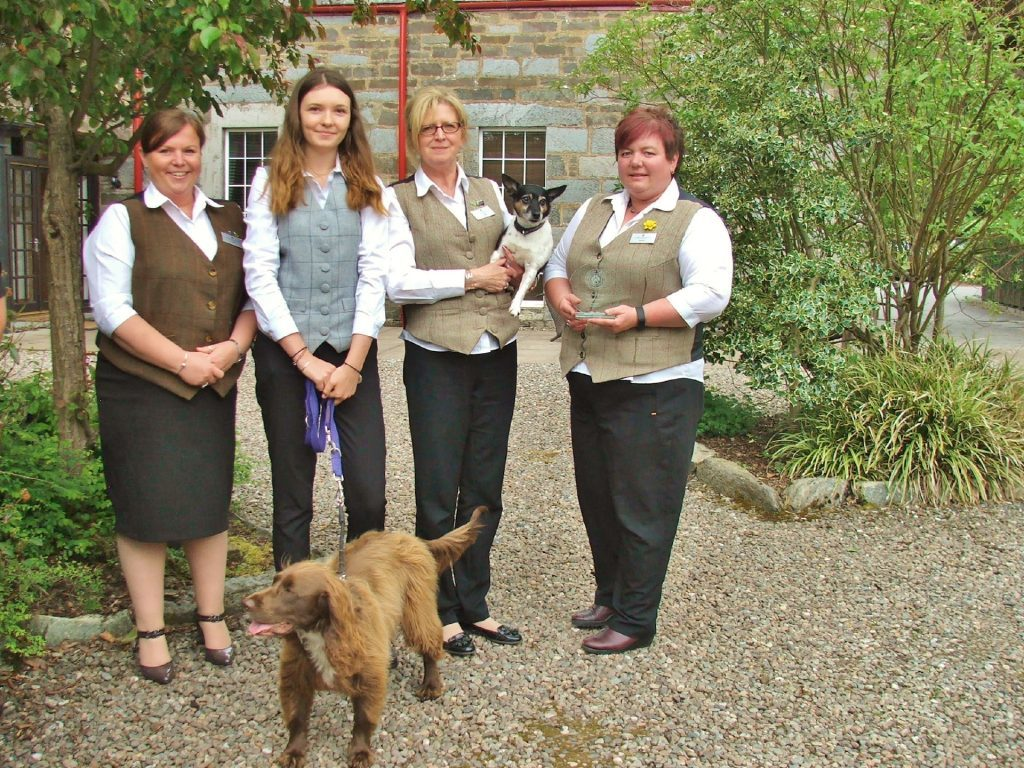 Staff at Mains of Taymouth are excited to win the award.