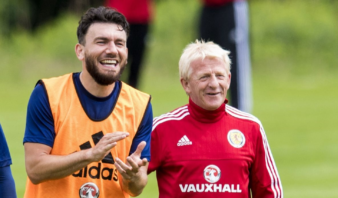 Robert Snodgrass and Gordon Strachan.