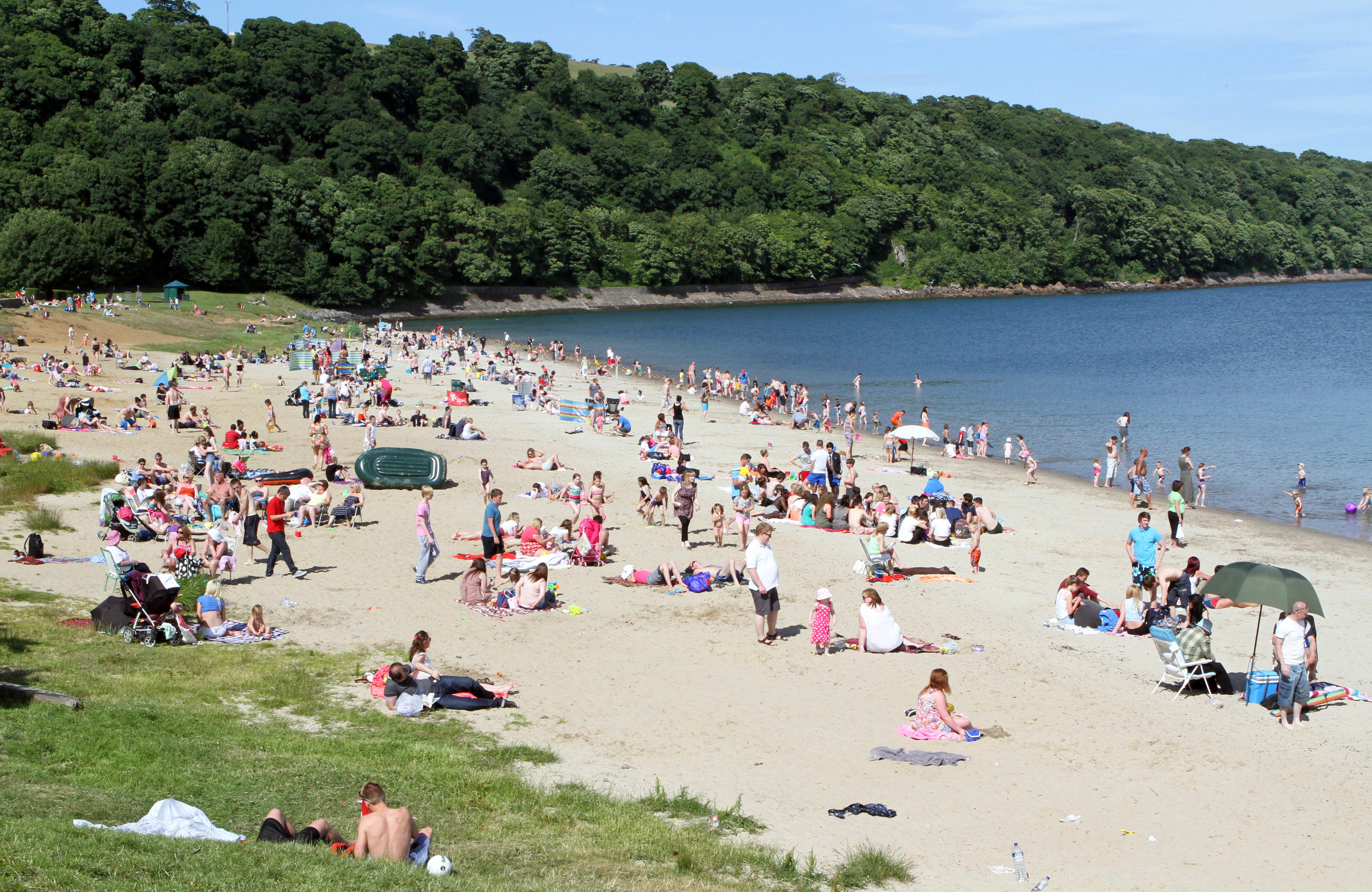 Aberdour's Silver Sands in a previous year.