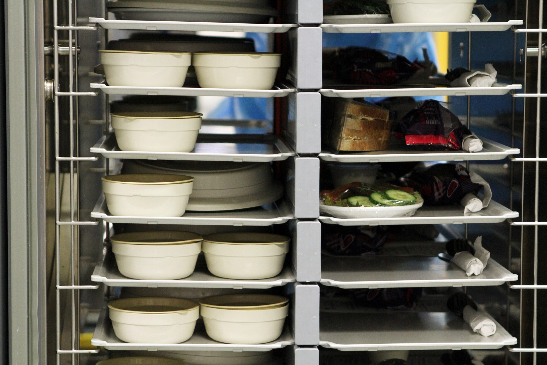 NHS Tayside meals are either served in bulk at ward level or centrally pre-plated