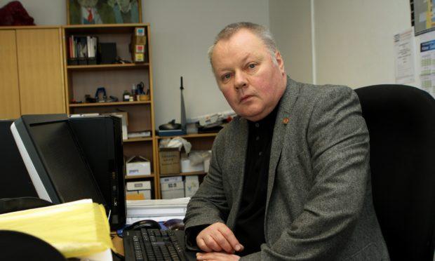 David Farmer from Fife EIS.