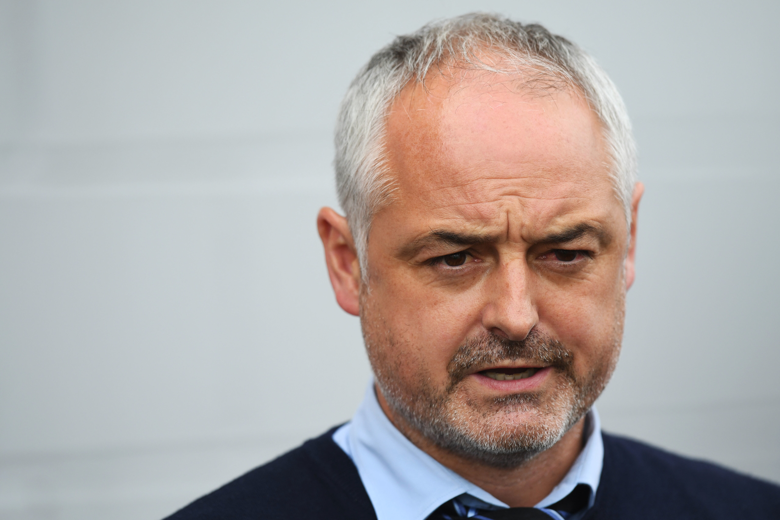 Dundee United manager Ray McKinnon has yet to be officially confirmed.