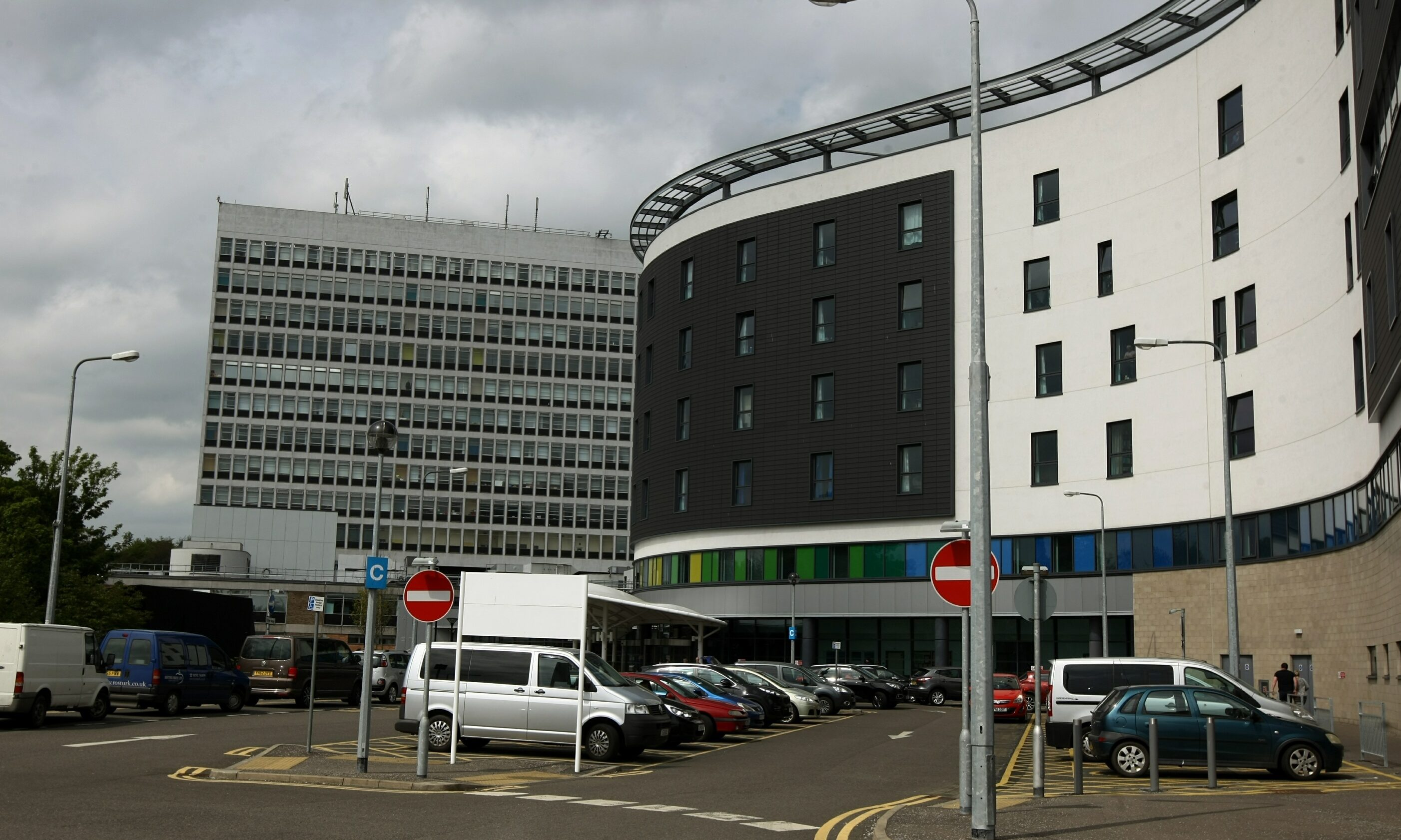 Victoria Hospital in Kirkcaldy.