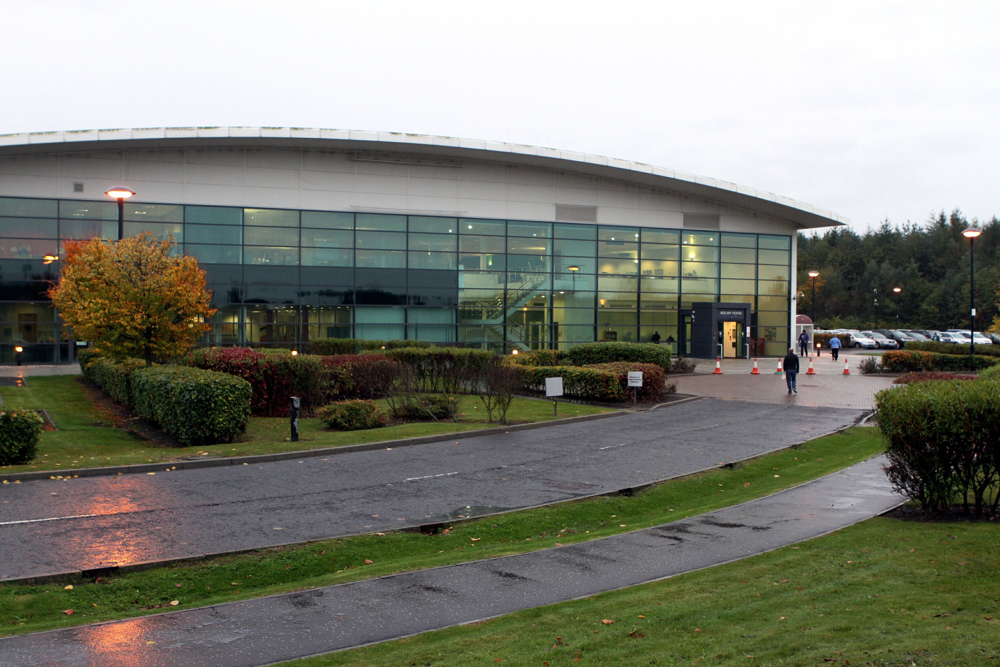 HMRC's Sidlaw House, at Dundee's Technology Park