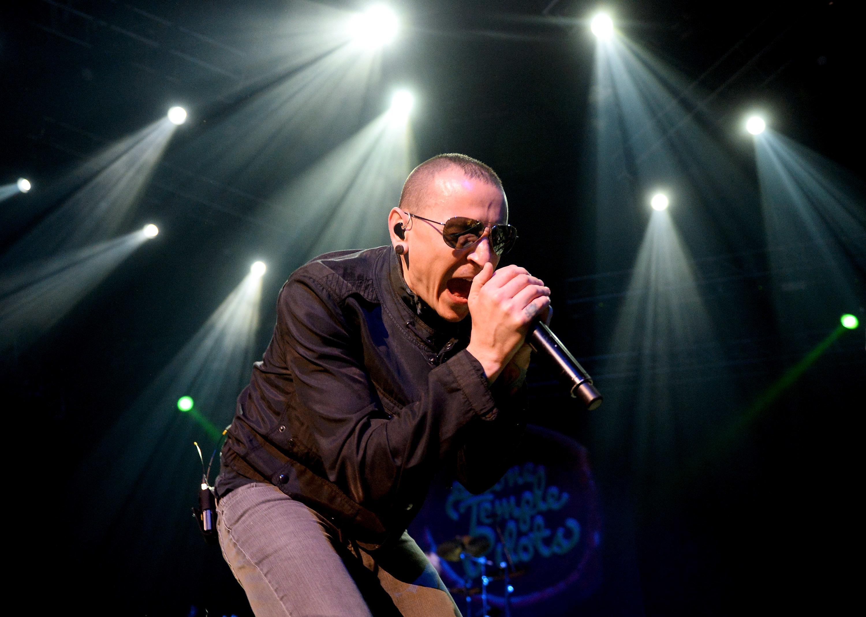 Musician Chester Bennington of Linkin Park.