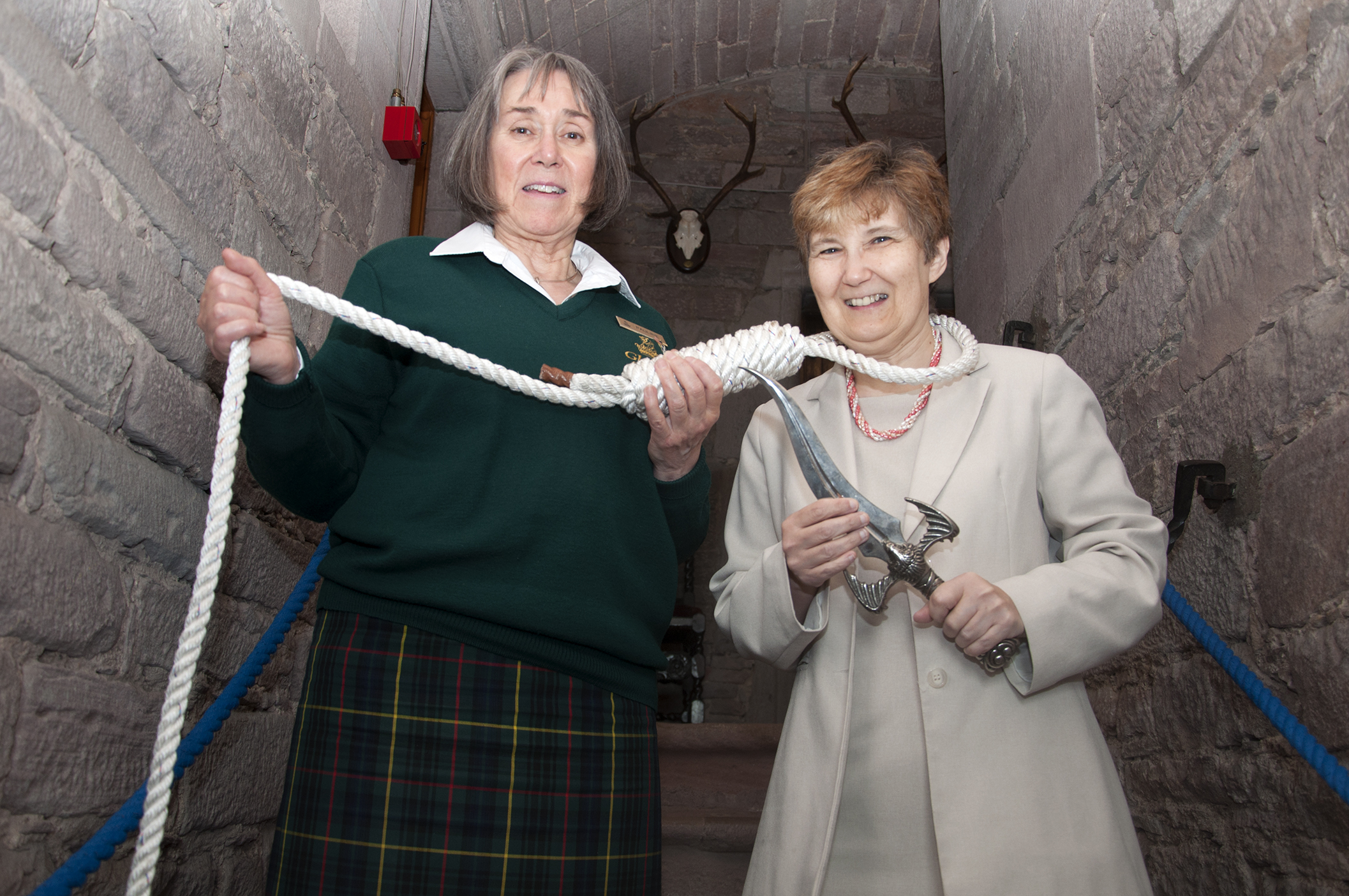 Pauline Cawdery from Glamis Castle and Wendy H Jones