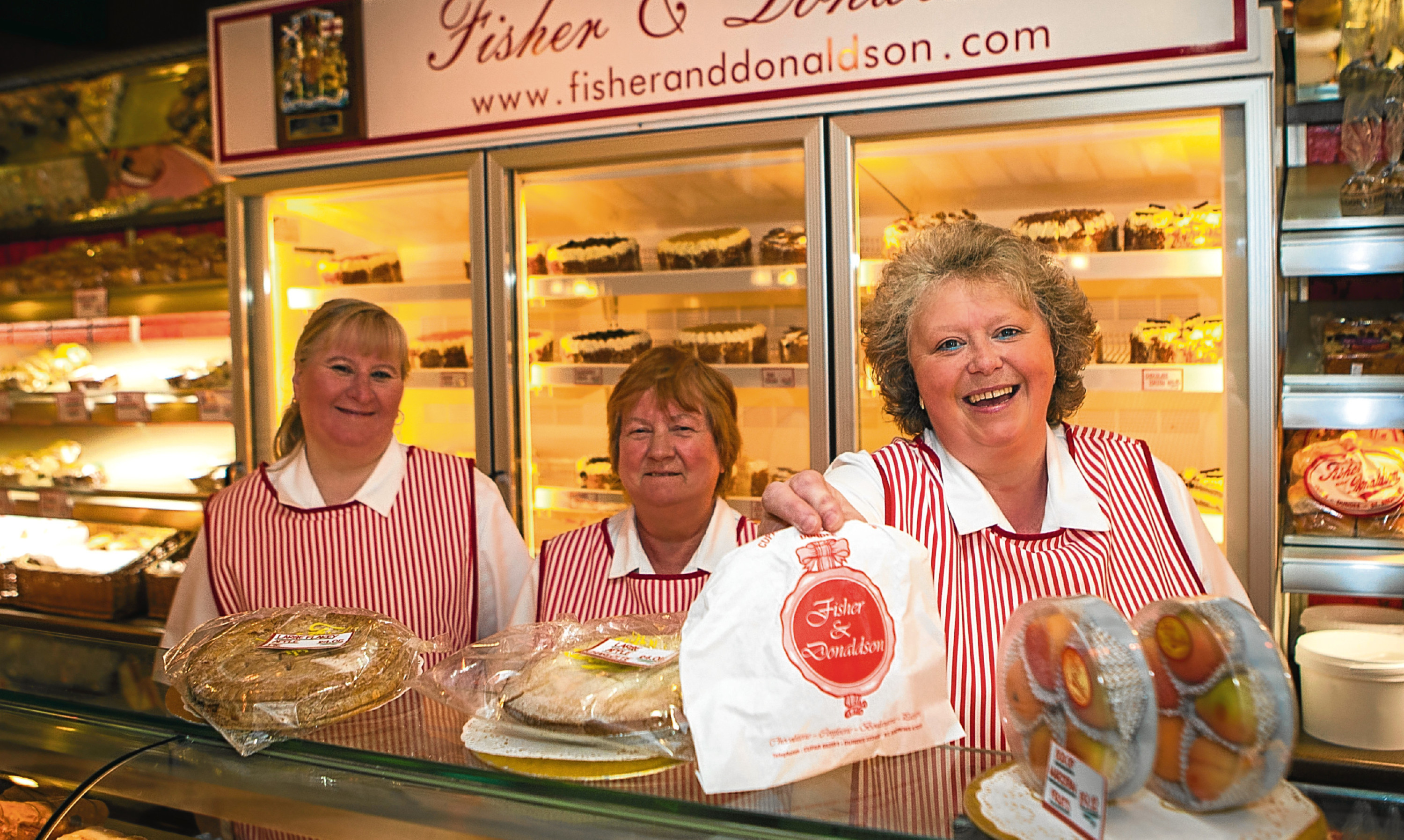 Service with a smile: Baker Fisher &Donaldson was among those taking part in Dundee Independents Day 2017.