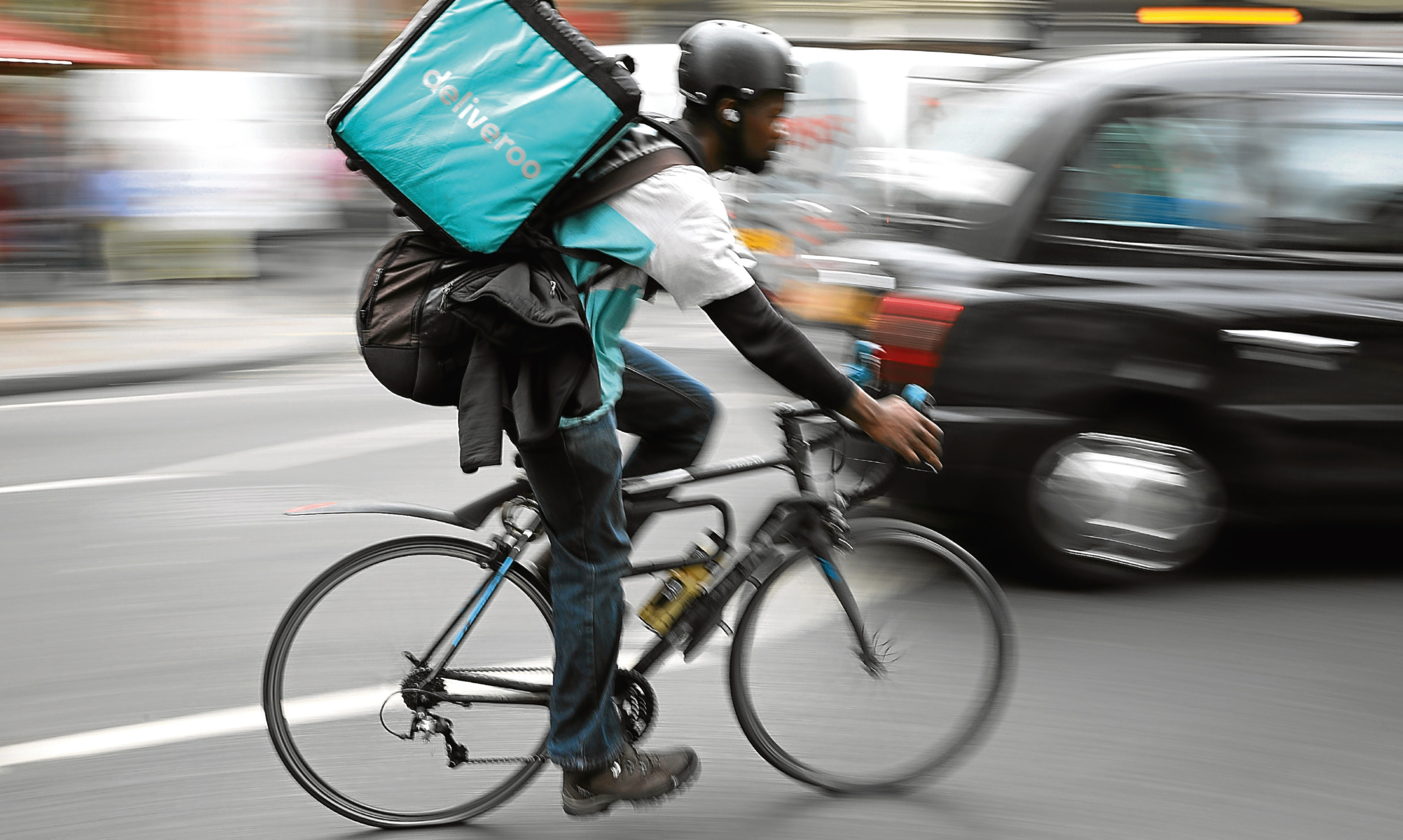 Deliveroo's CEO Will Shu has said the law needs to keep pace with the changing economy